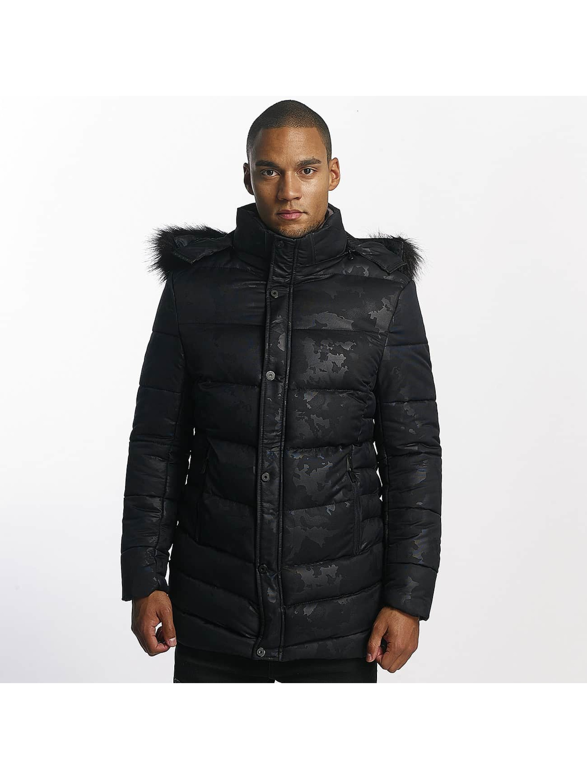 Uniplay winterjas Tim blauw