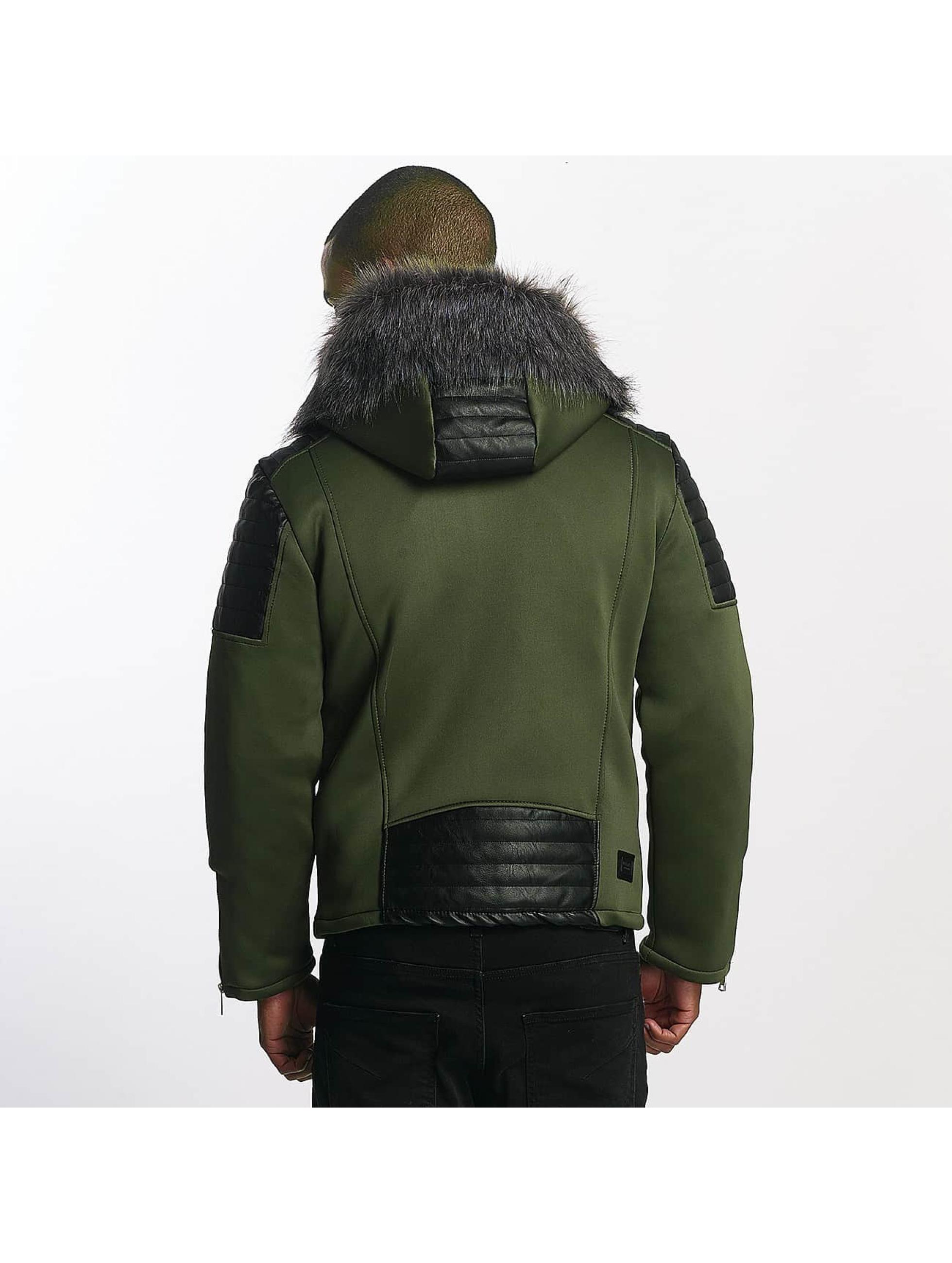 Uniplay winterjas Paul khaki
