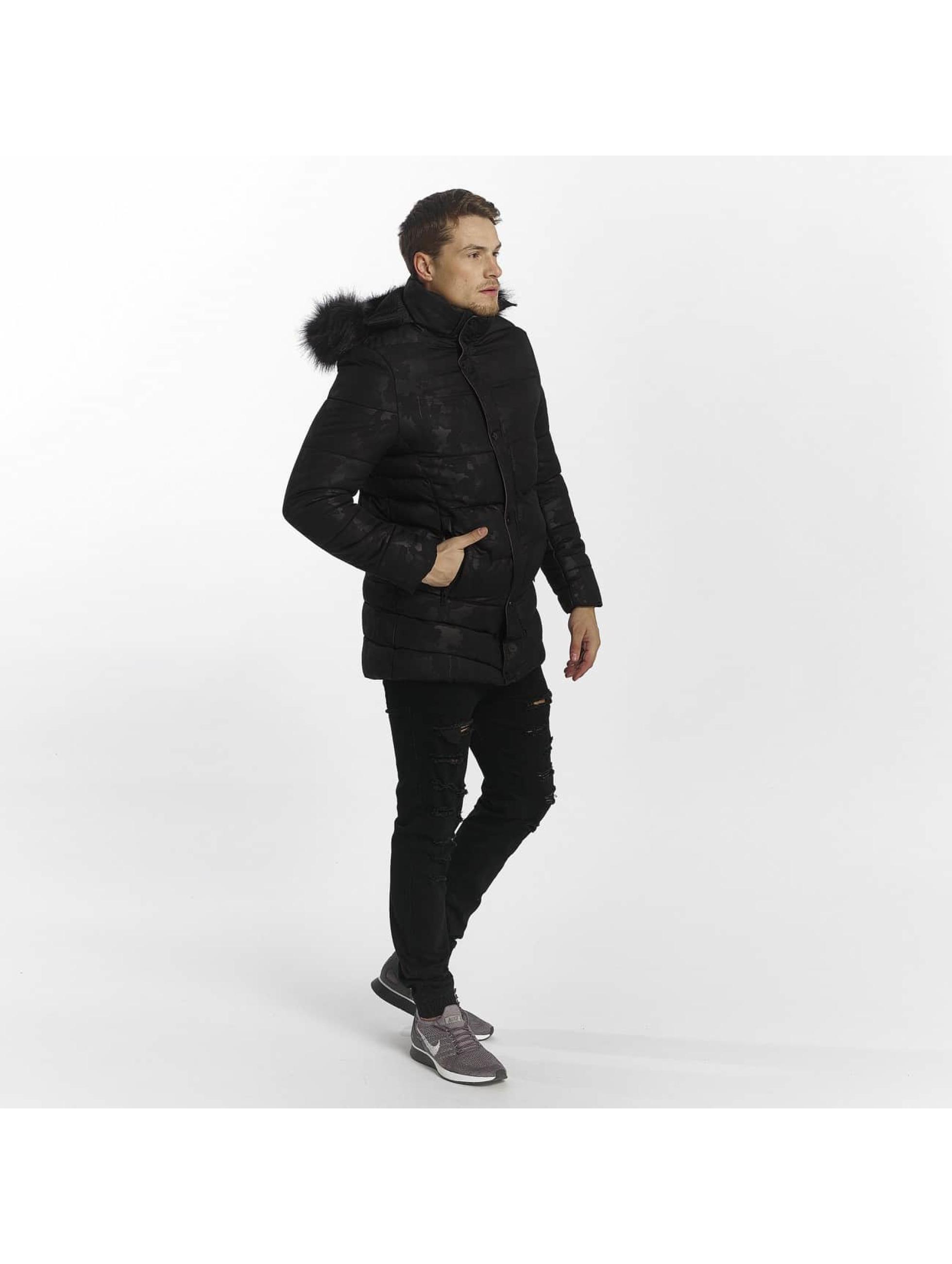 Uniplay winterjas Down zwart