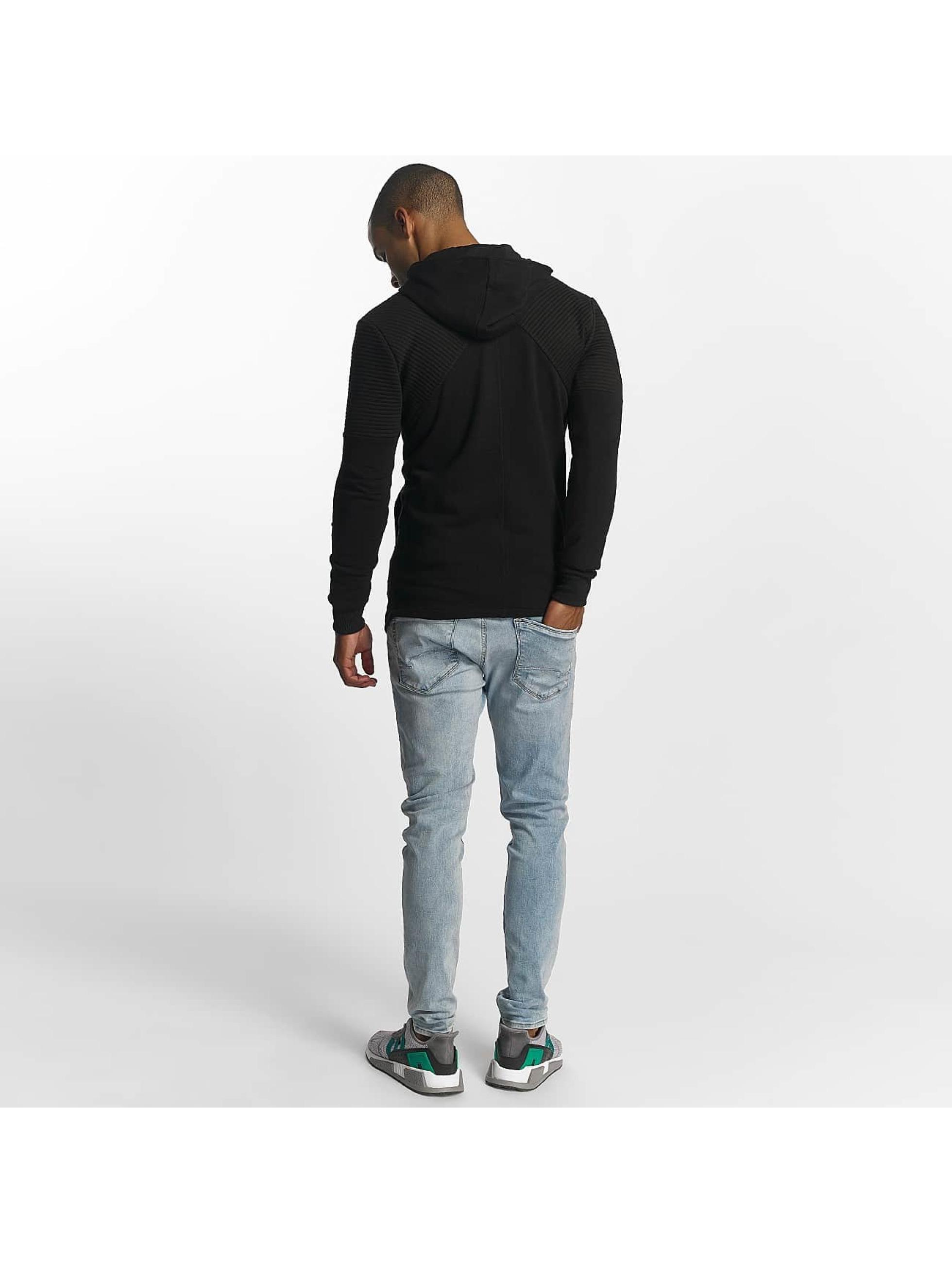 Uniplay Zip Hoodie Zipper èierna