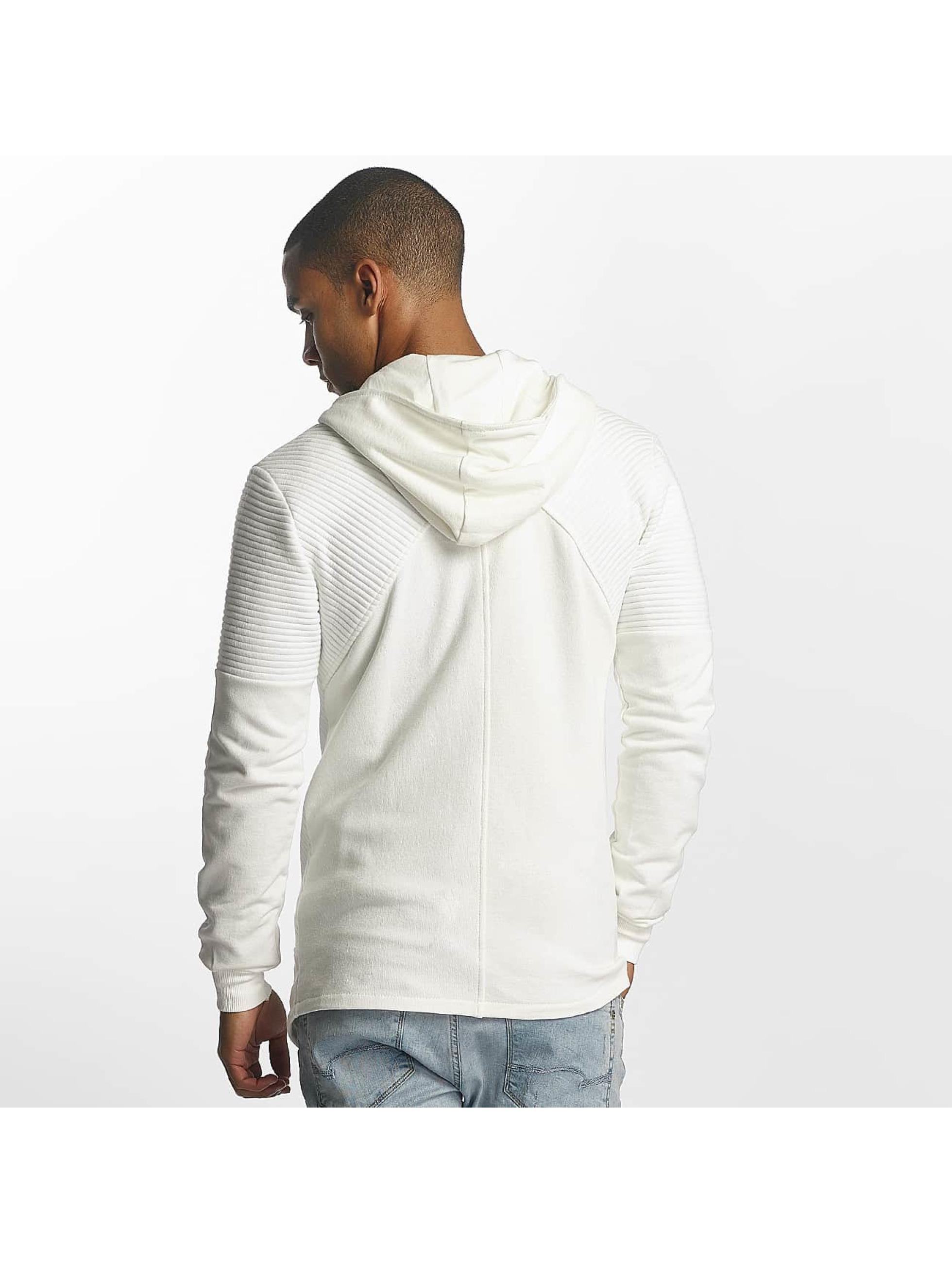 Uniplay Zip Hoodie Zipper biela