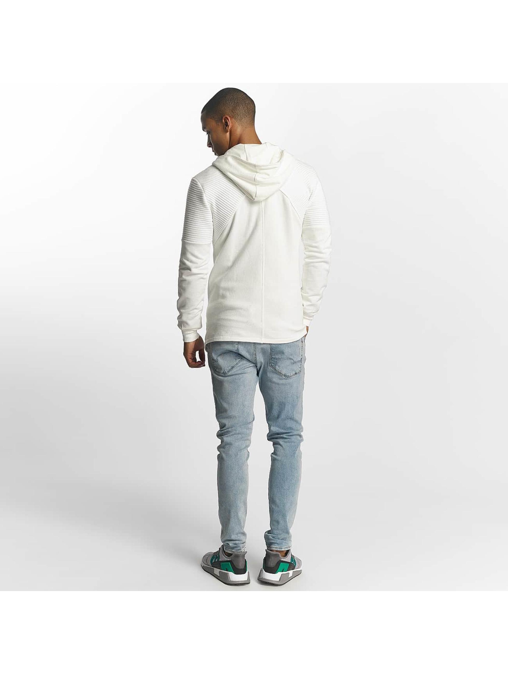 Uniplay Zip Hoodie Zipper hvit
