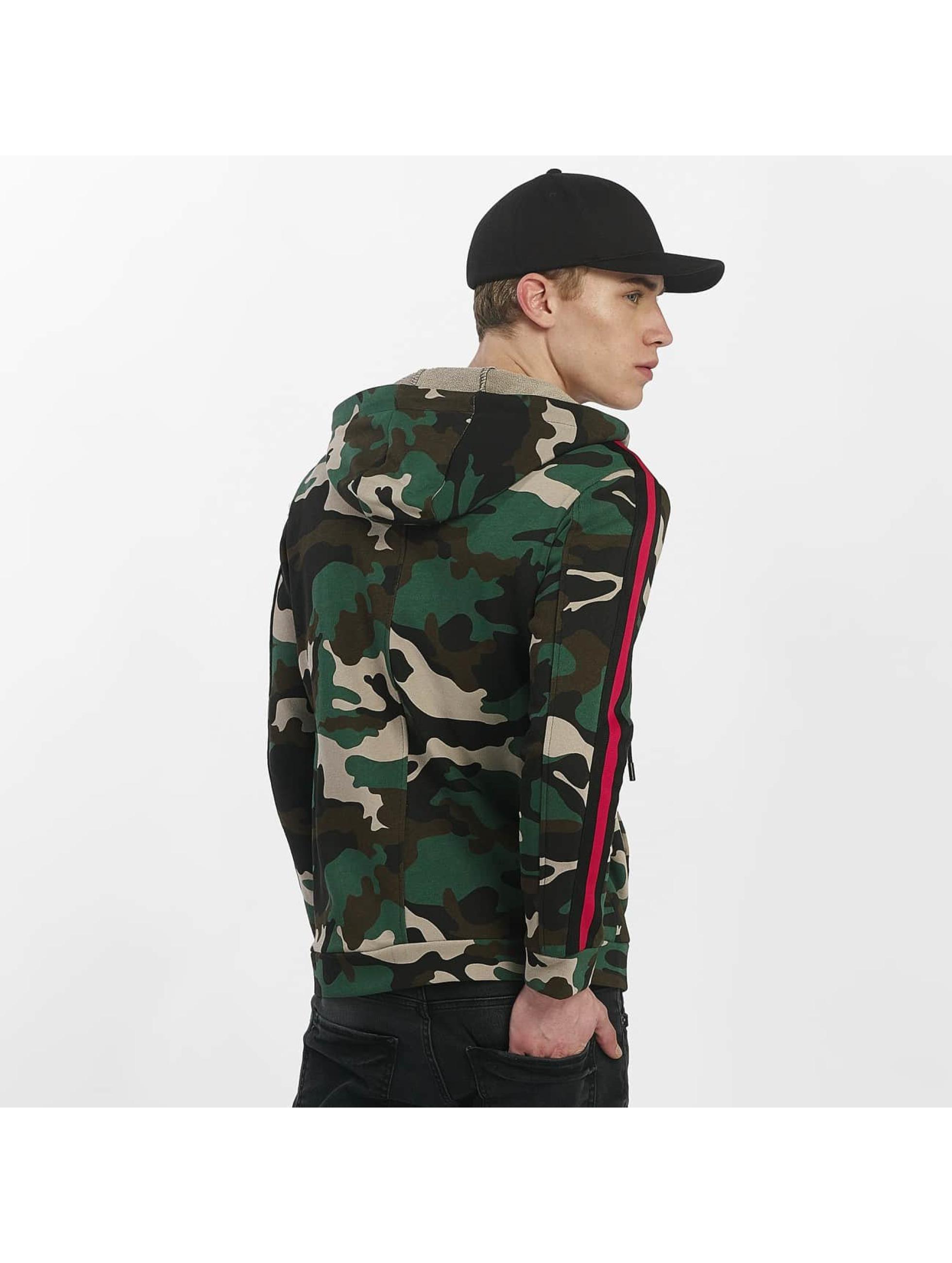 Uniplay Zip Hoodie Vest Military kamuflasje