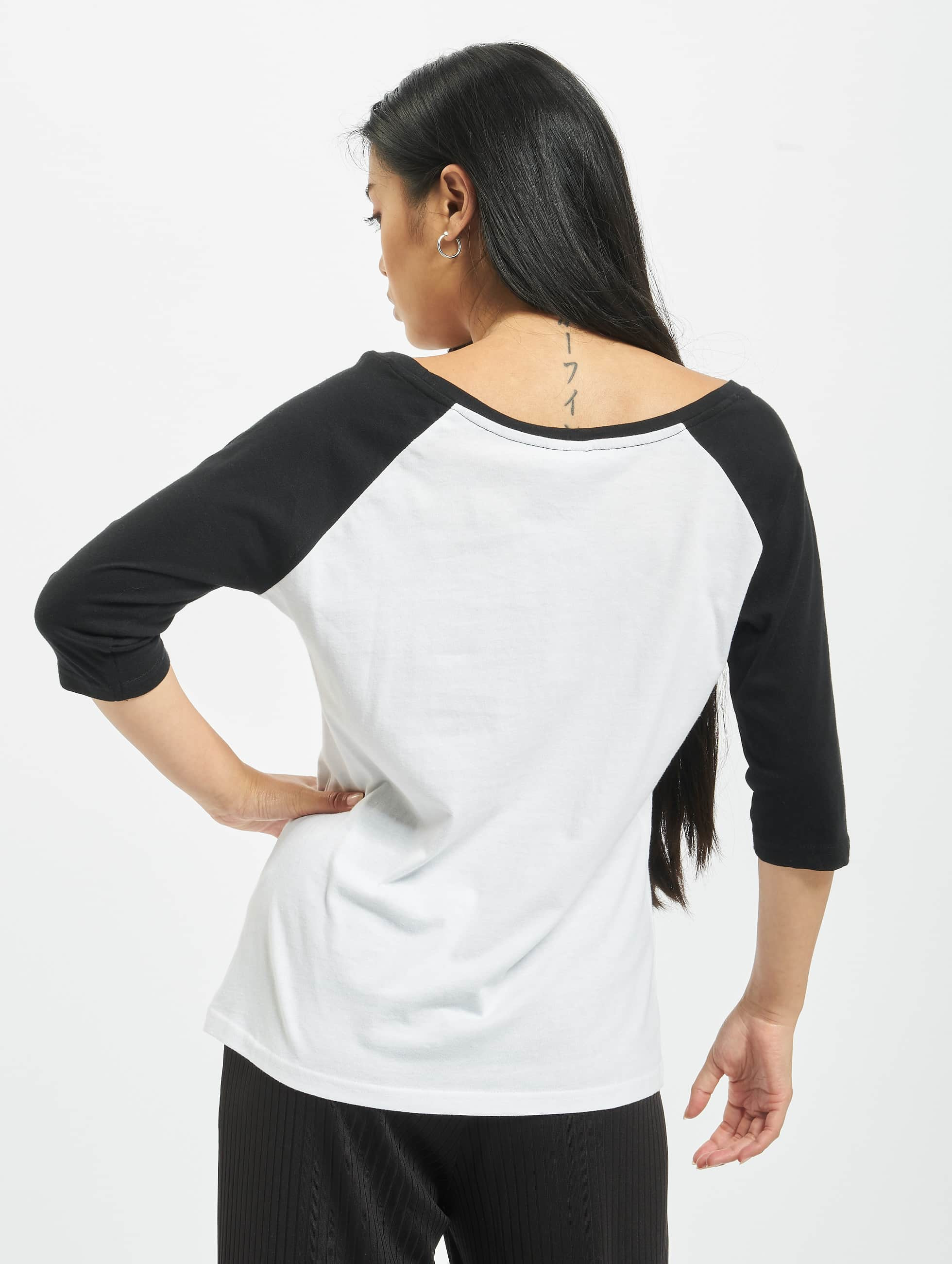 Urban Classics Водолазка Ladies 3/4 Contrast Raglan белый