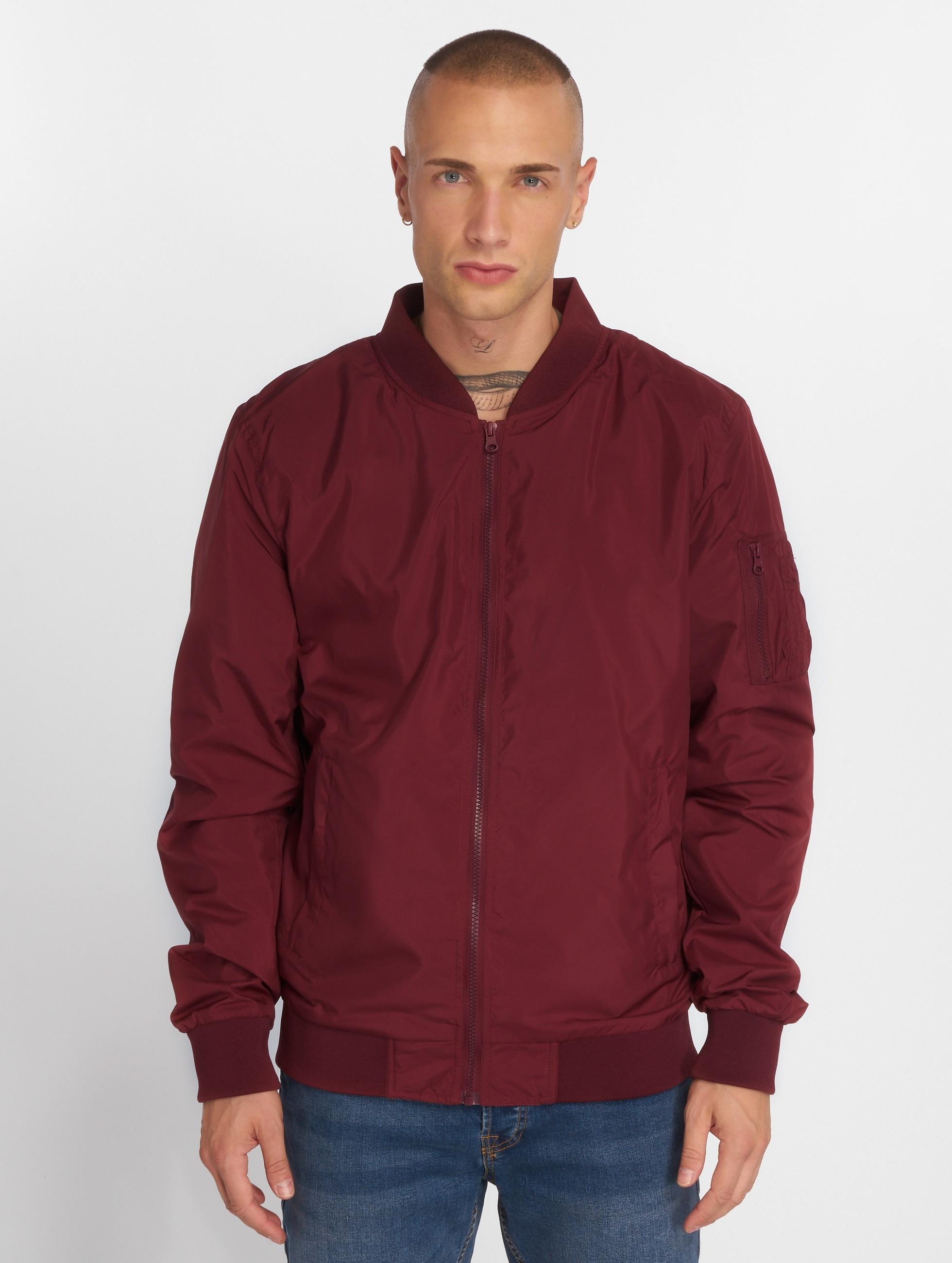 Urban Classics Демисезонная куртка Light Bomber красный
