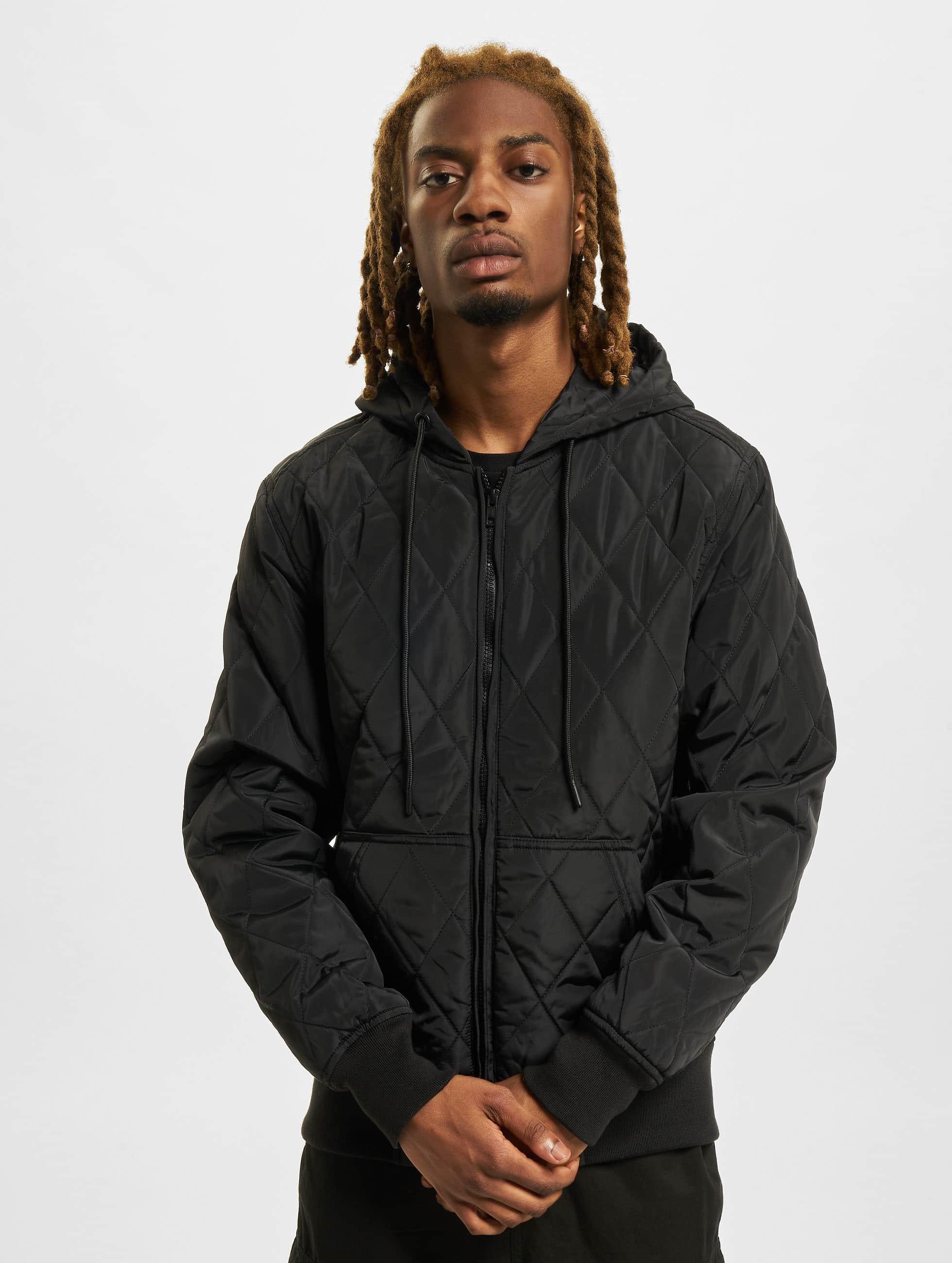 Urban Classics Демисезонная куртка Hooded Big черный