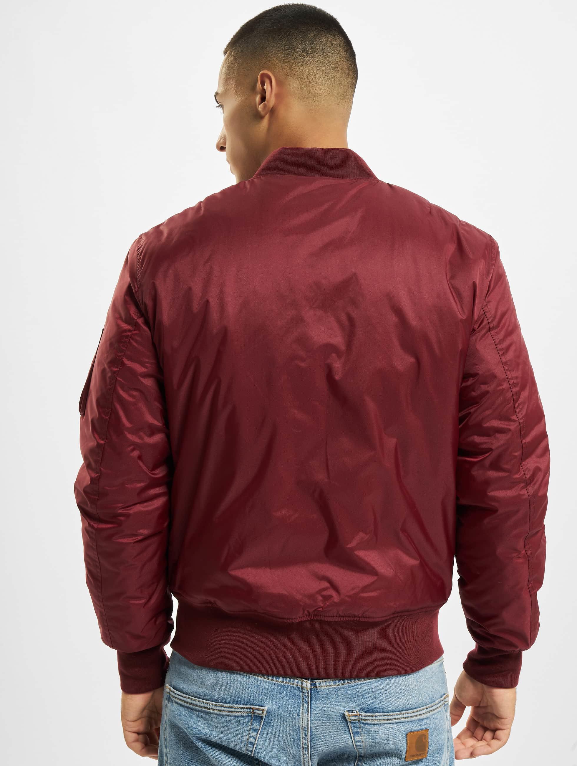 Urban Classics Куртка-бомбардир Basic красный