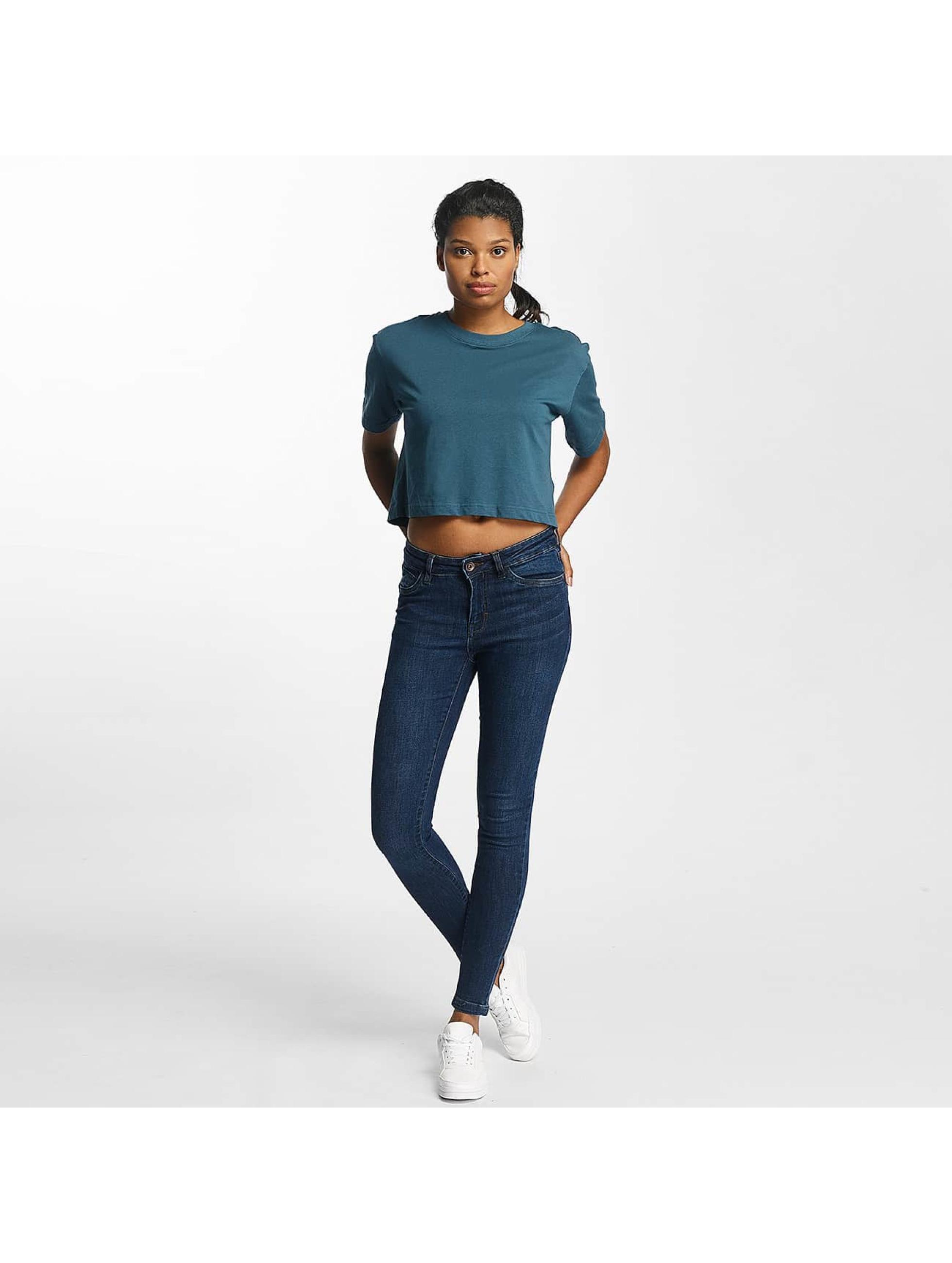 Urban Classics Облегающие джинсы Skinny Denim синий