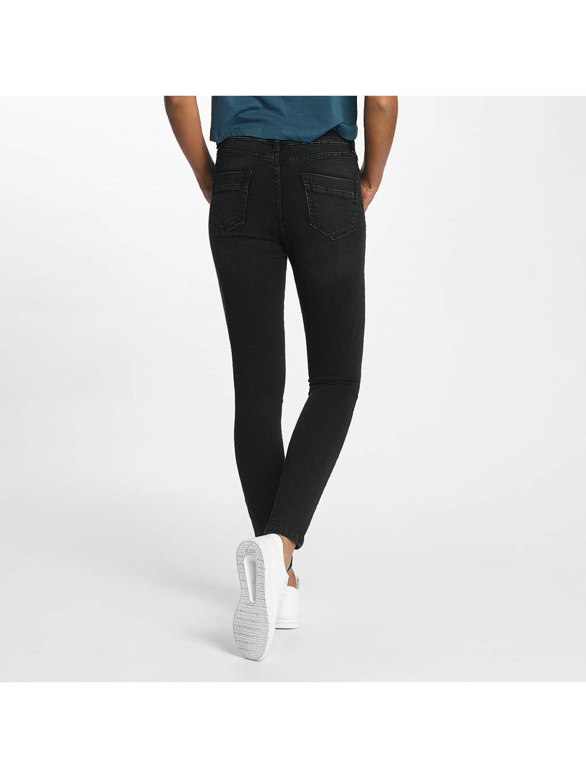 Urban Classics Облегающие джинсы Skinny Denim черный