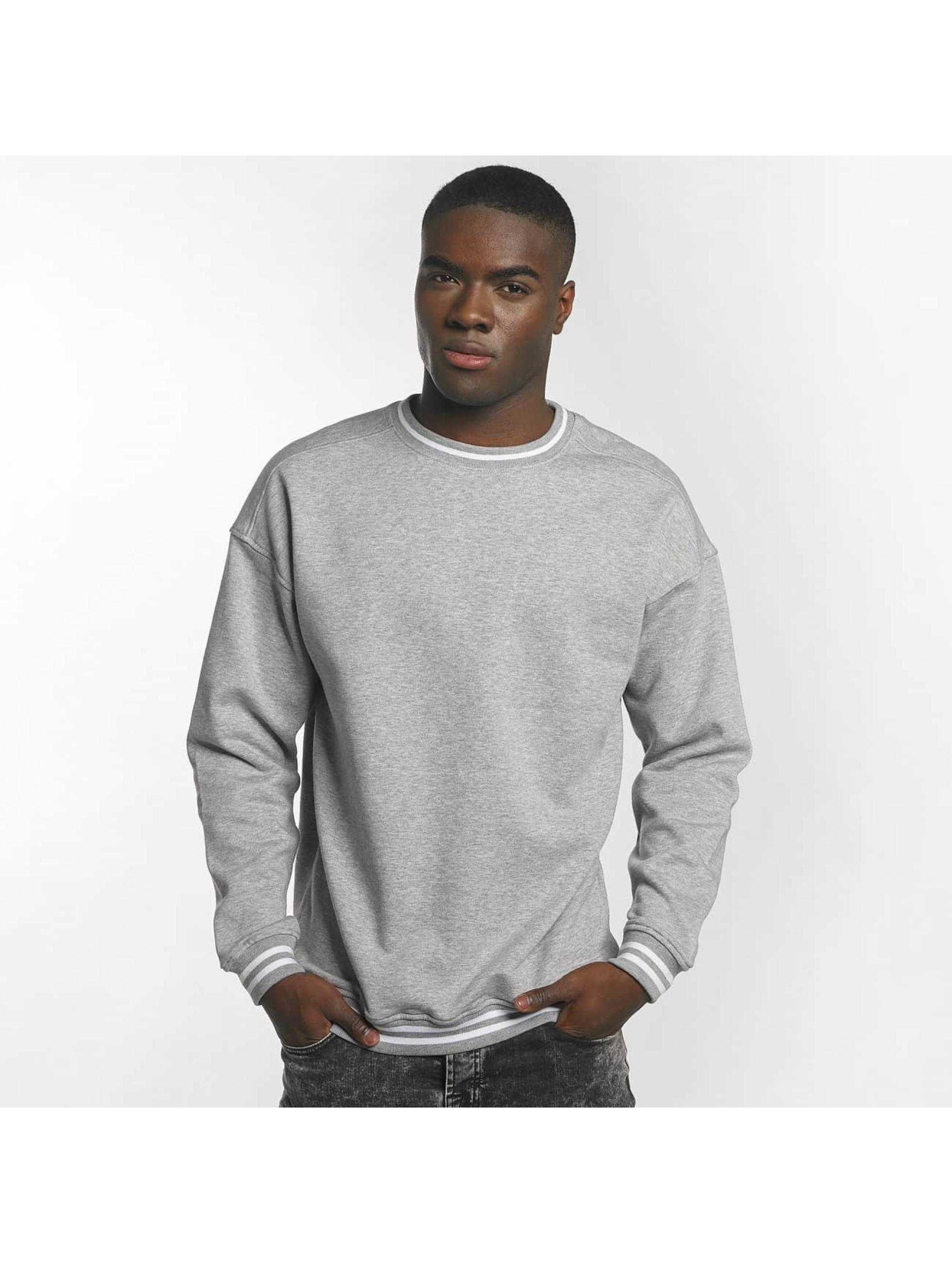 Urban Classics Пуловер College серый