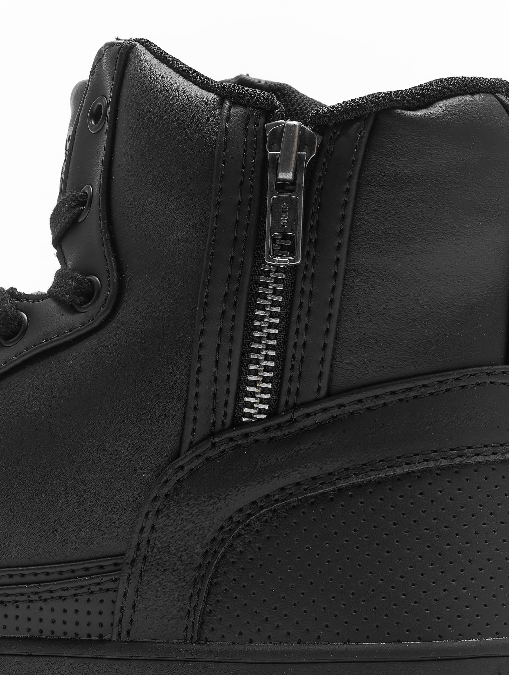 Urban Classics Сникеры Zipper черный