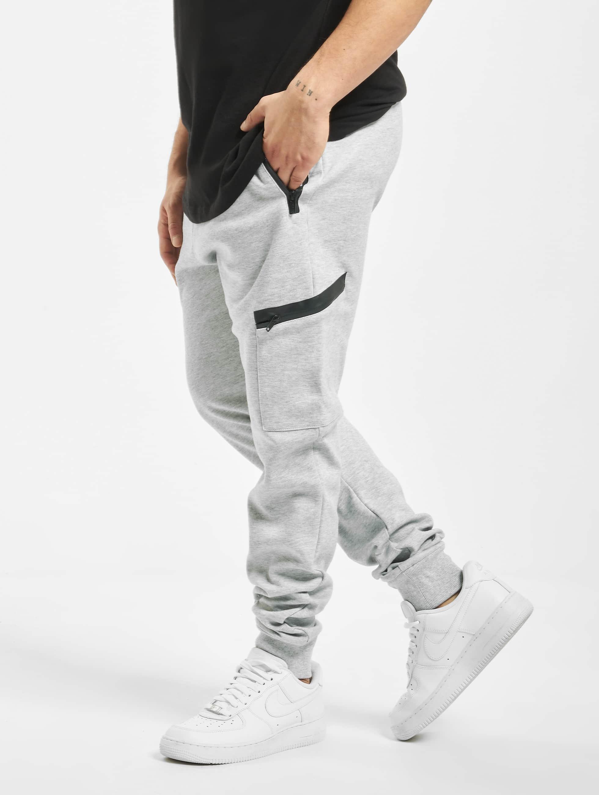 Urban Classics Спортивные брюки Athletic Interlock серый
