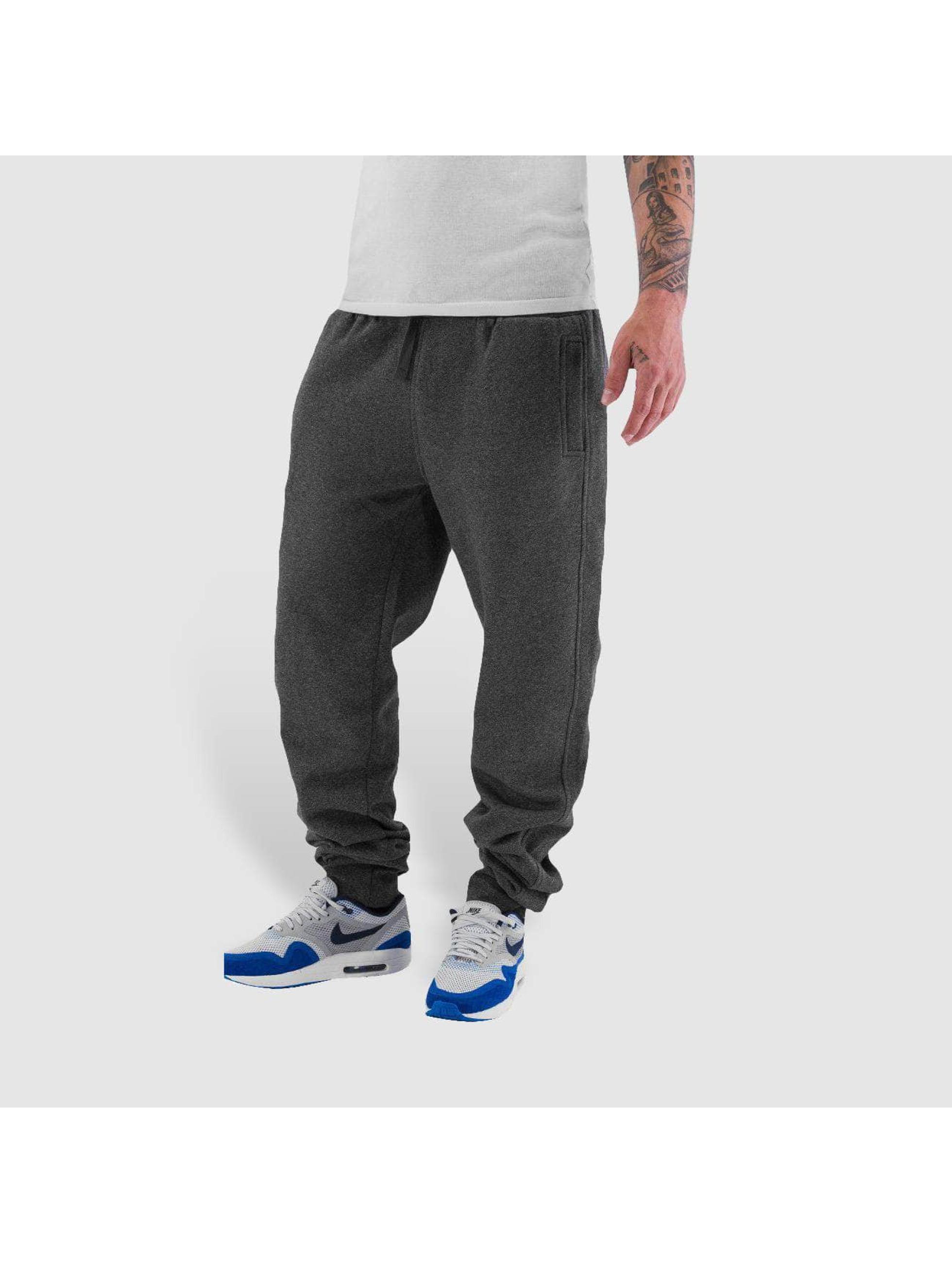 Urban Classics Спортивные брюки Melange Sweat черный