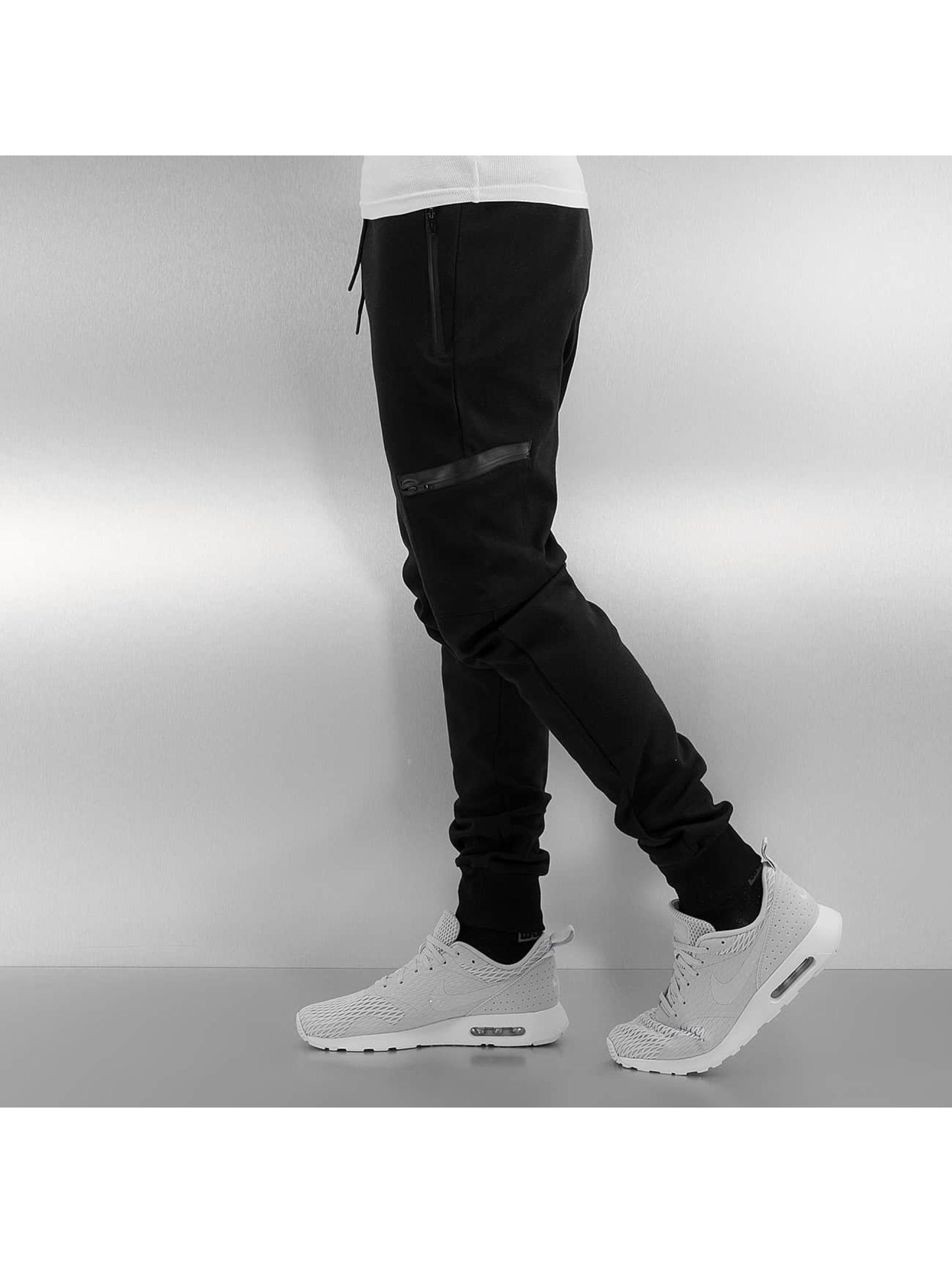 Urban Classics Спортивные брюки Athletic Interlock черный