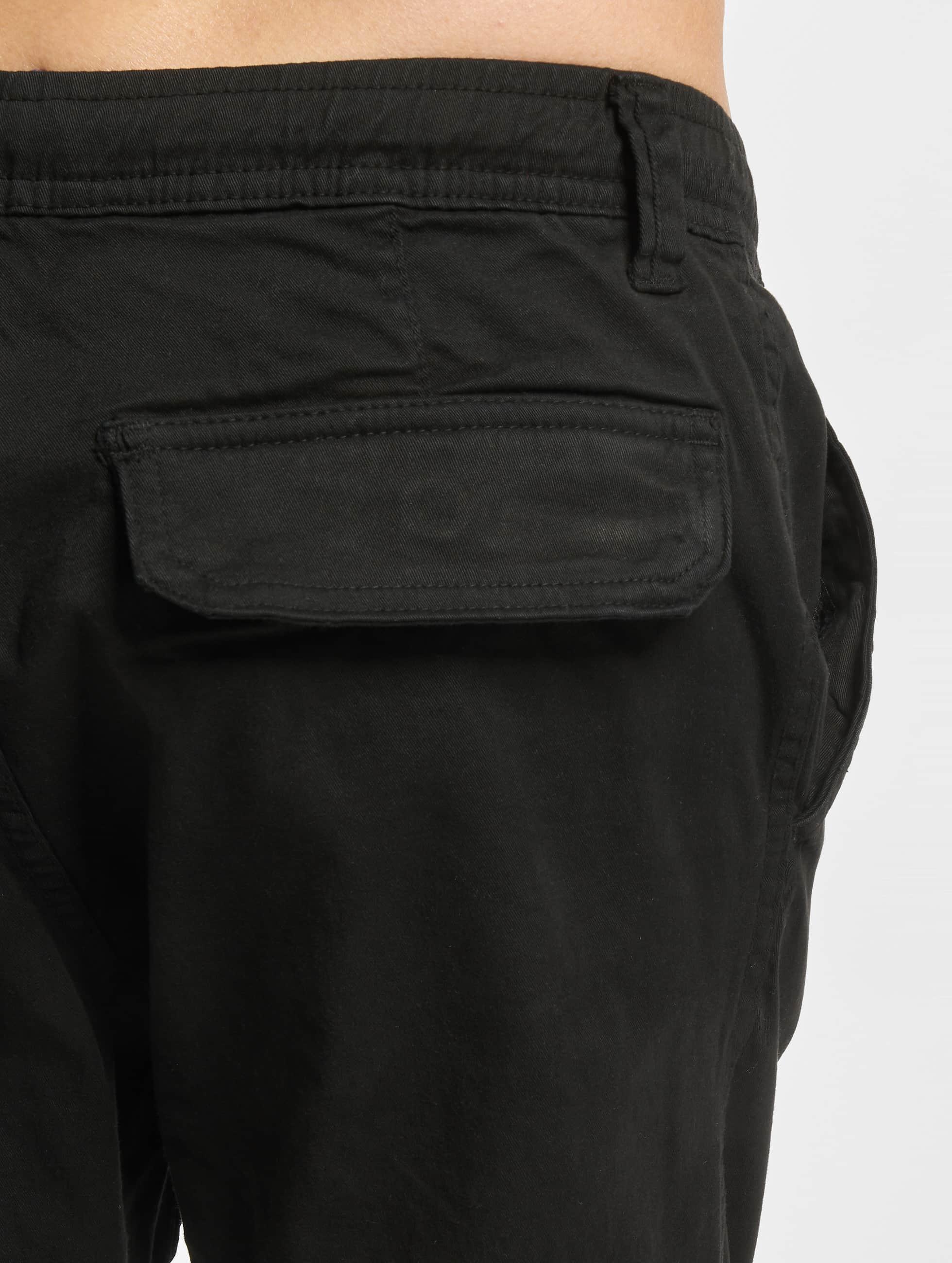 Urban Classics Спортивные брюки Stretch черный
