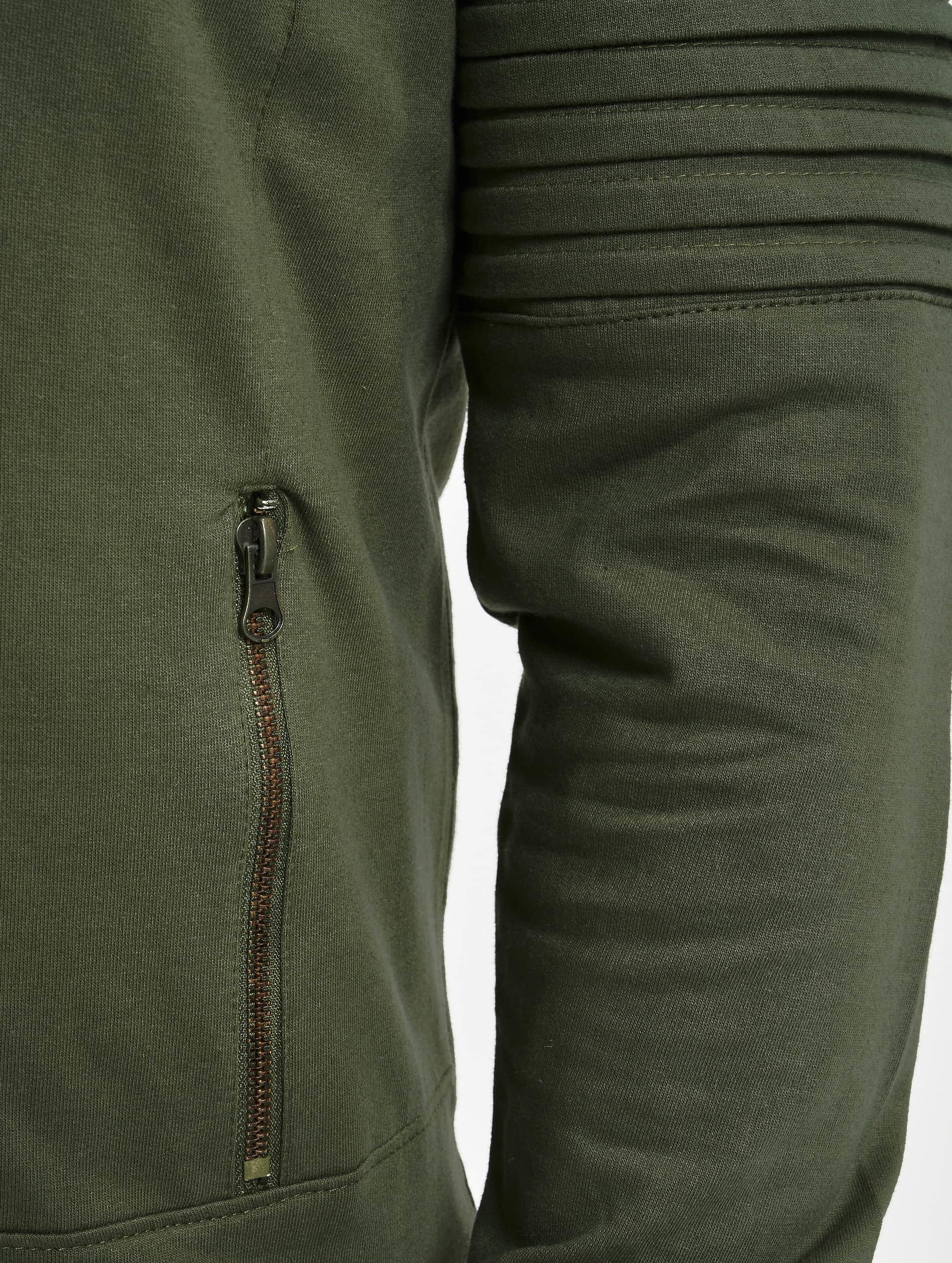 Urban Classics Толстовка Pleat Sleeves Terry HiLo оливковый