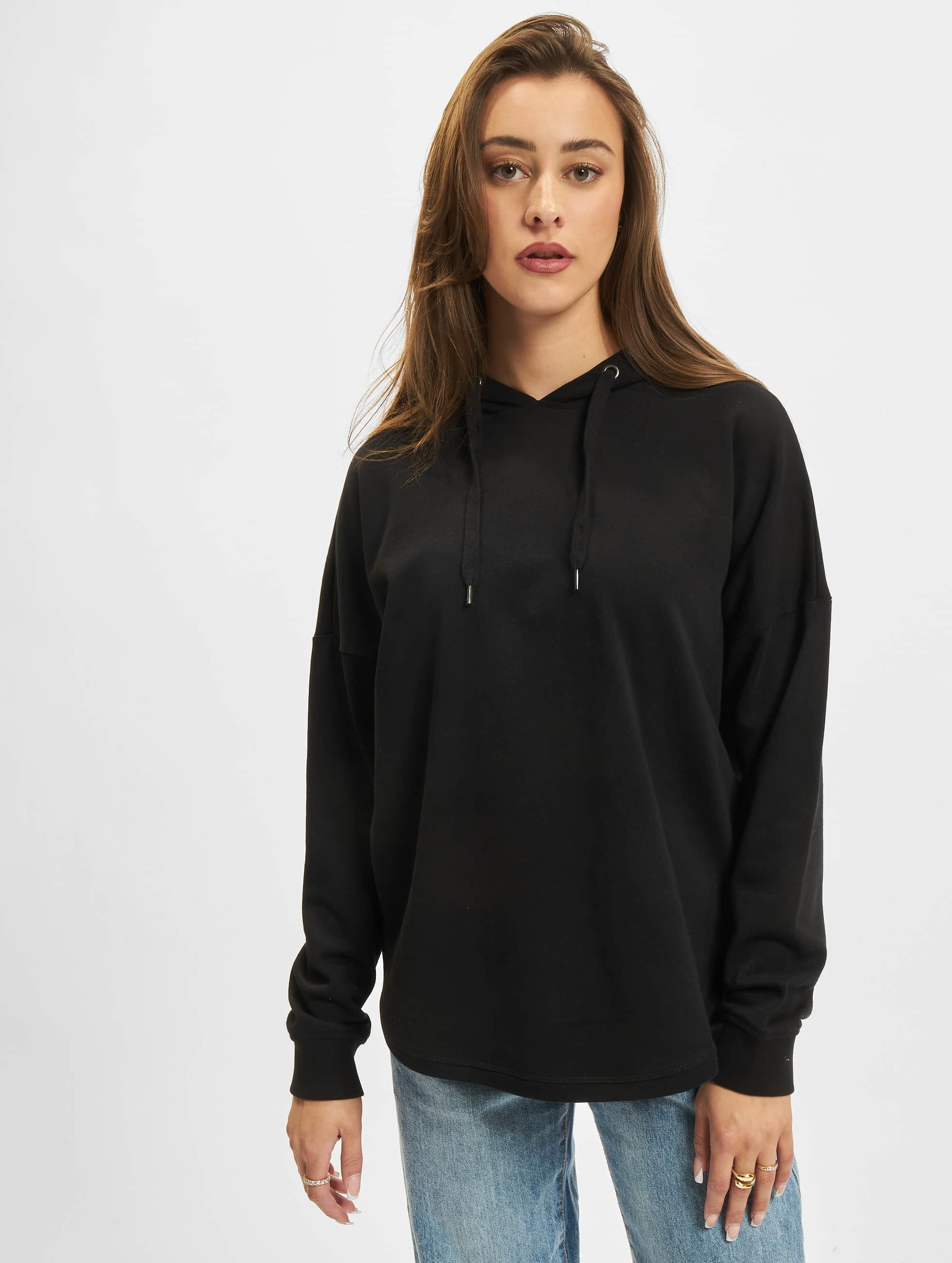 Urban Classics Толстовка Ladies Oversized Terry черный