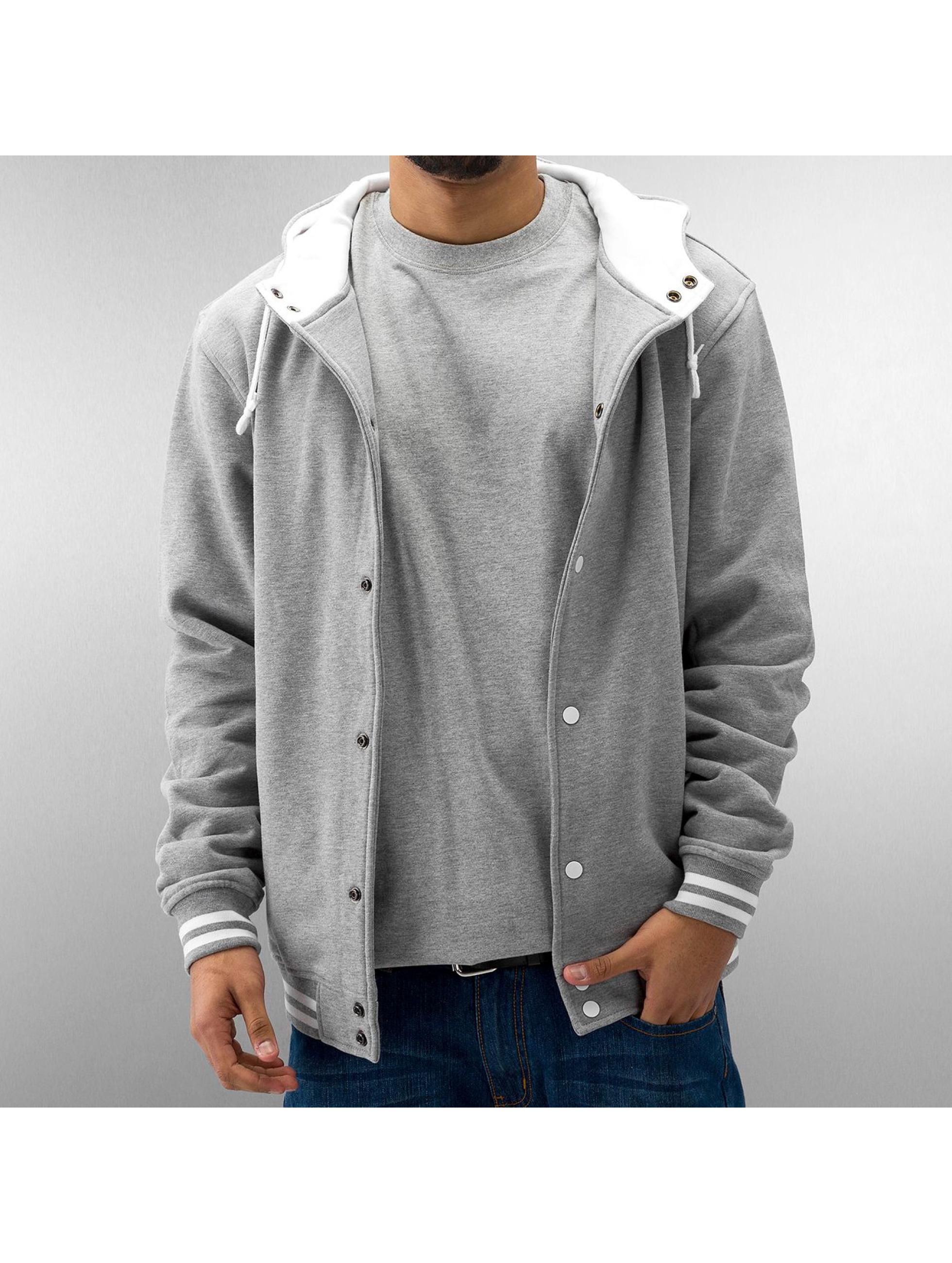 Urban Classics Университетская куртка Hooded серый