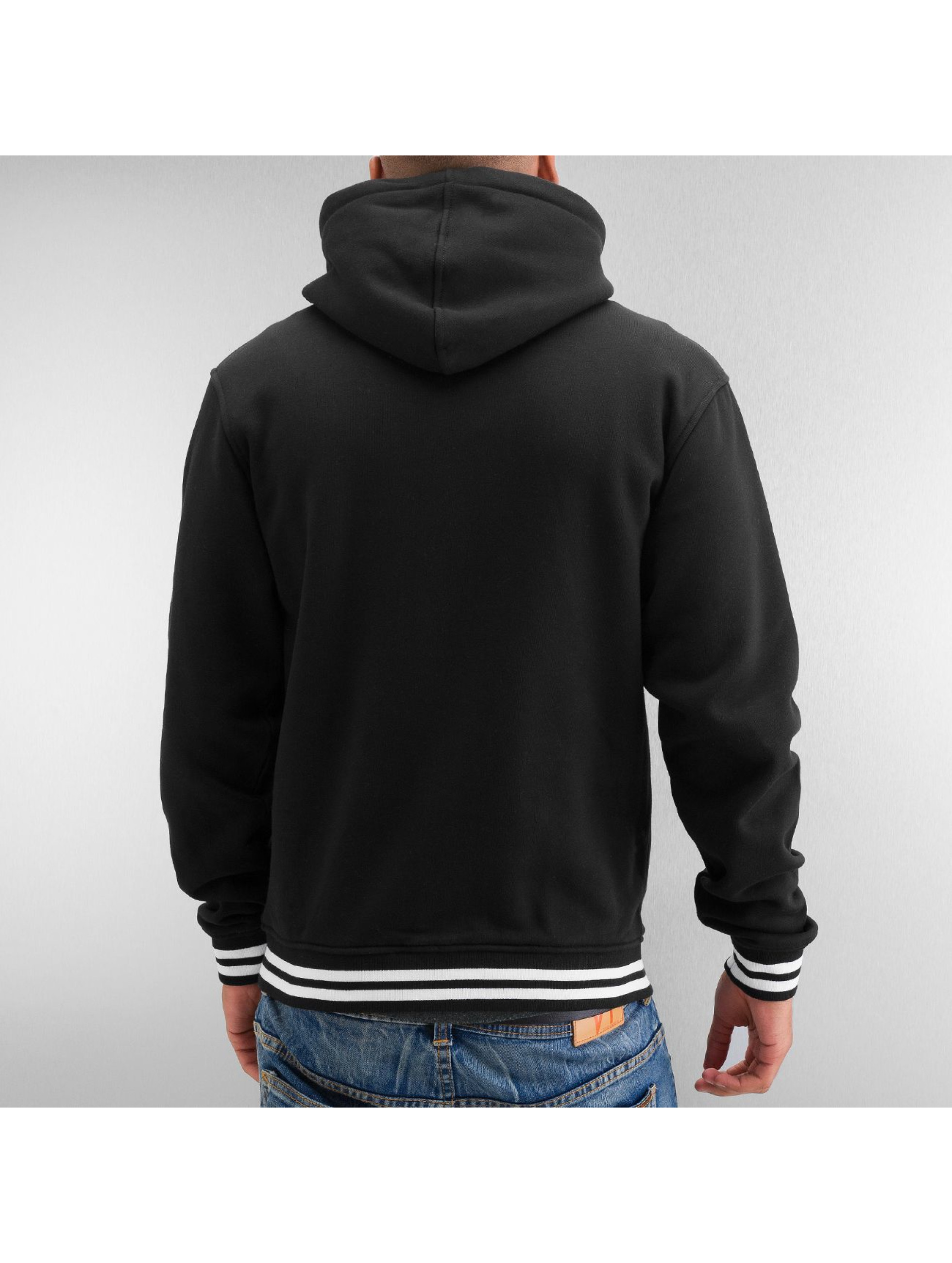 Urban Classics Baseball jack Hooded College zwart