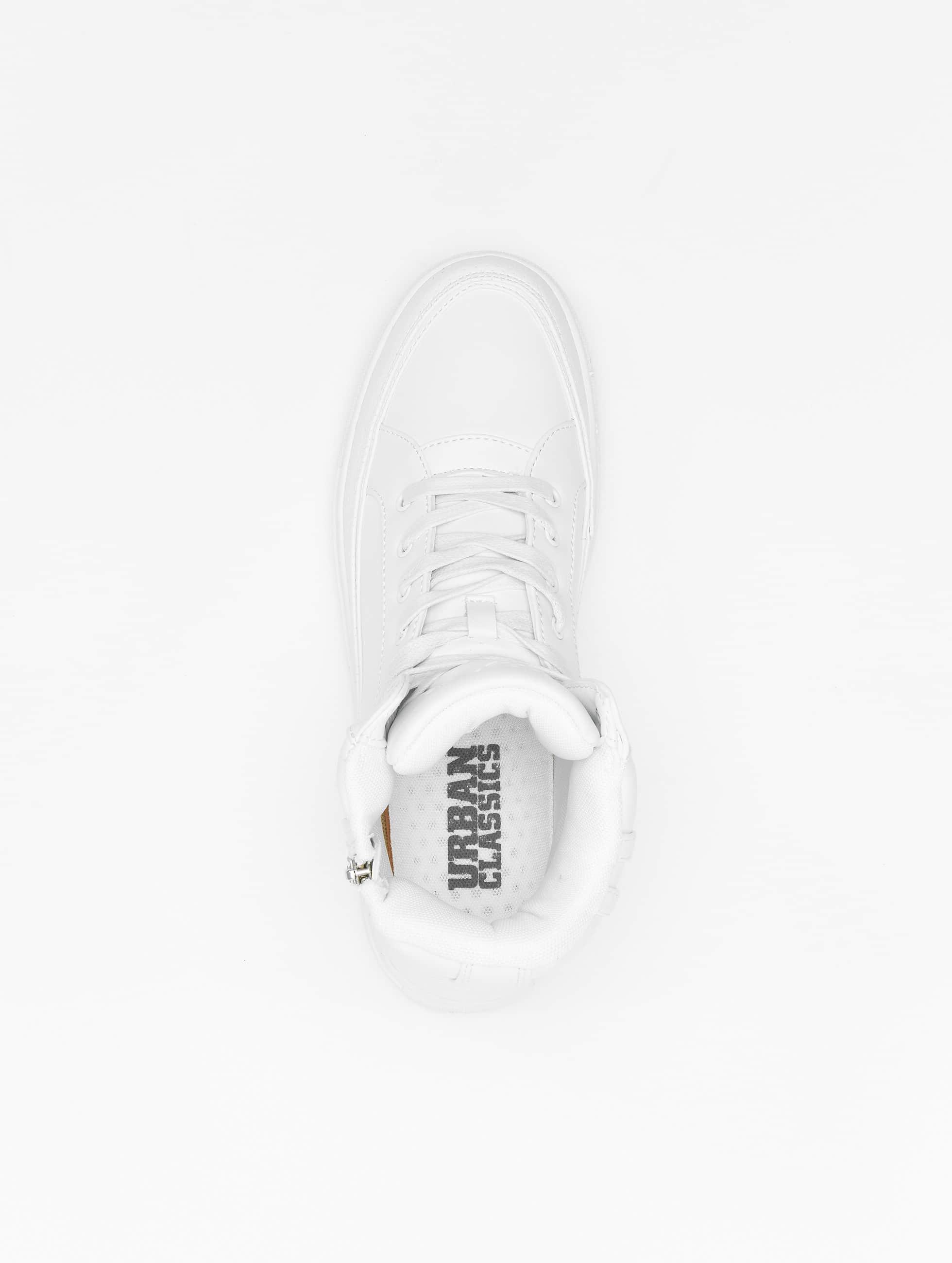 Urban Classics Baskets Zipper blanc