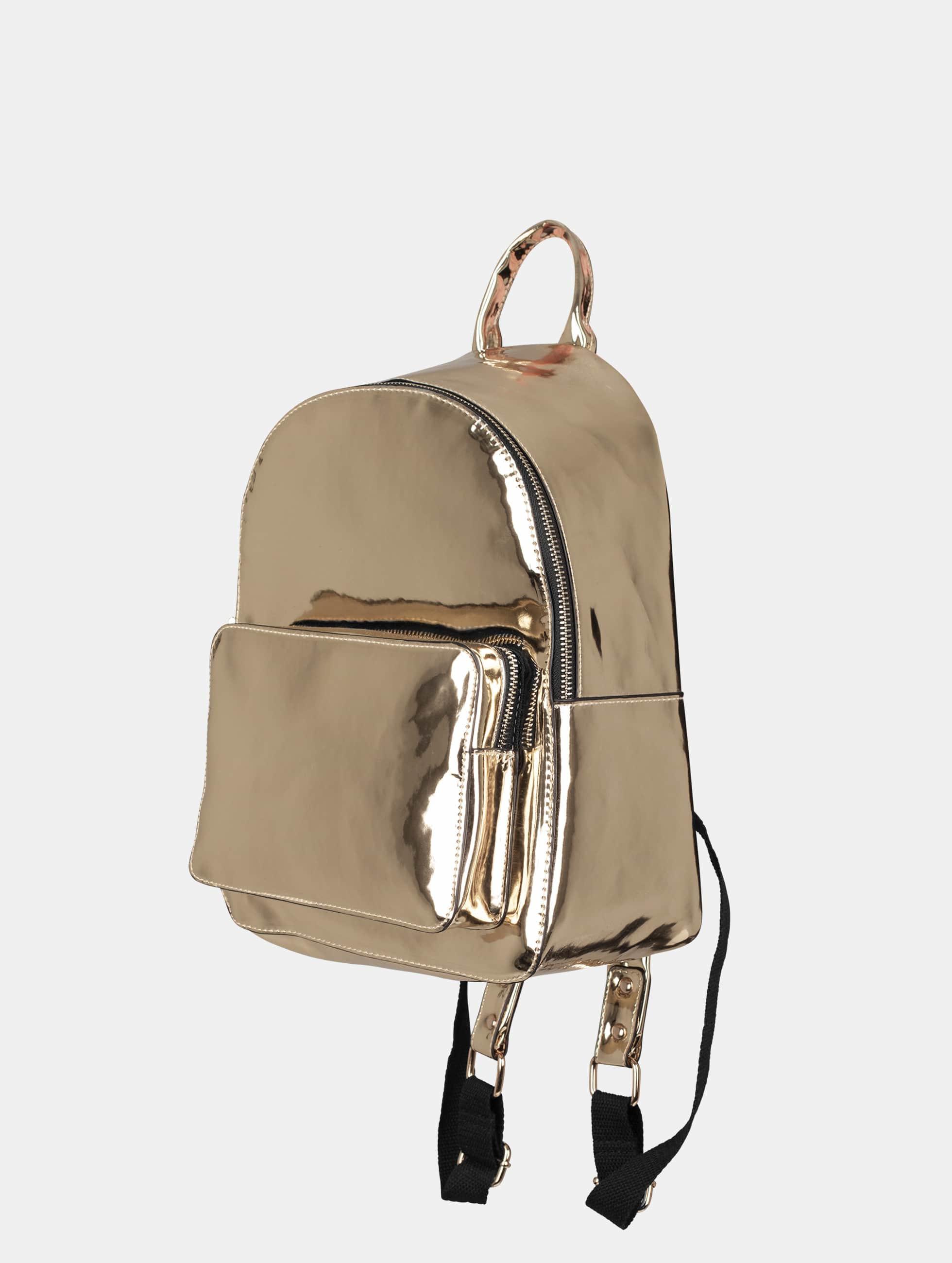 Urban Classics Batohy Midi Metallic zlatá