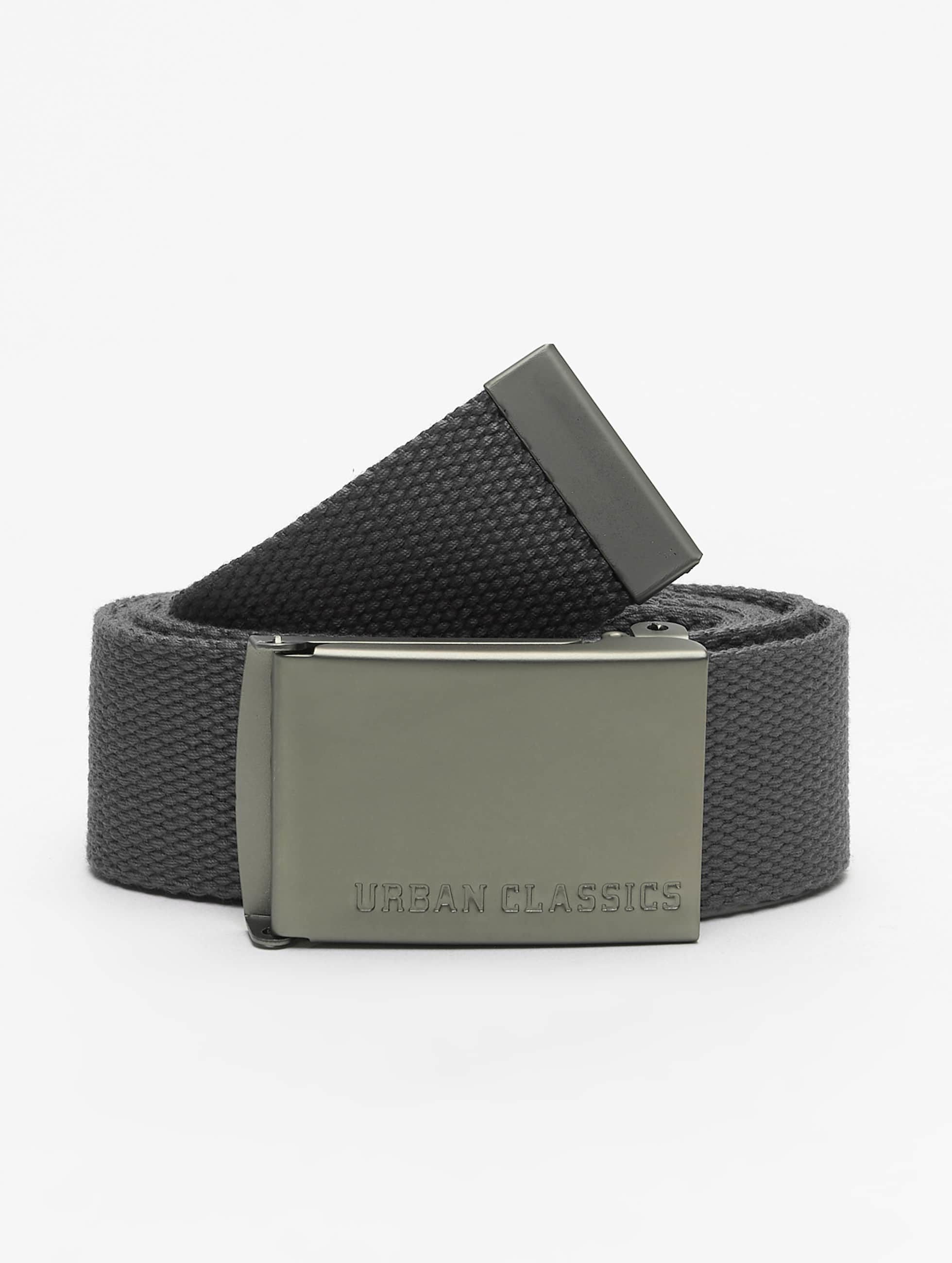 Urban Classics Belt Canvas grey