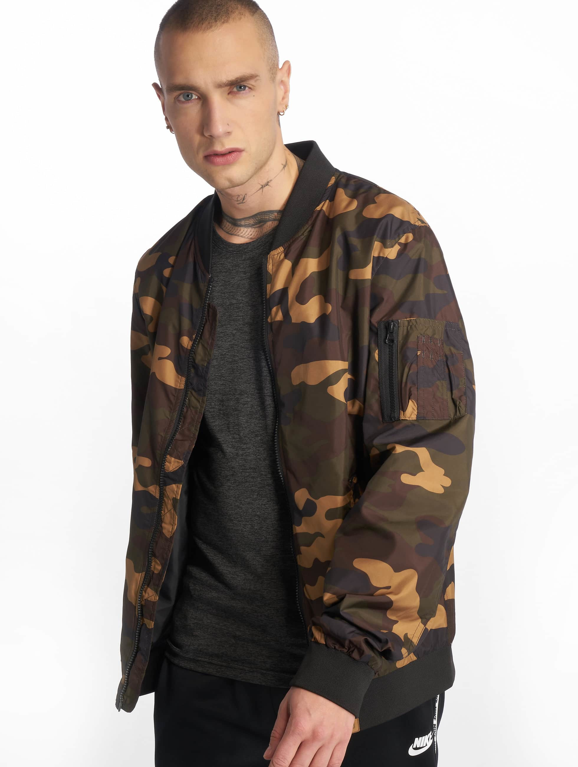 Urban Classics Light Camo Bomber camouflage Bomber homme