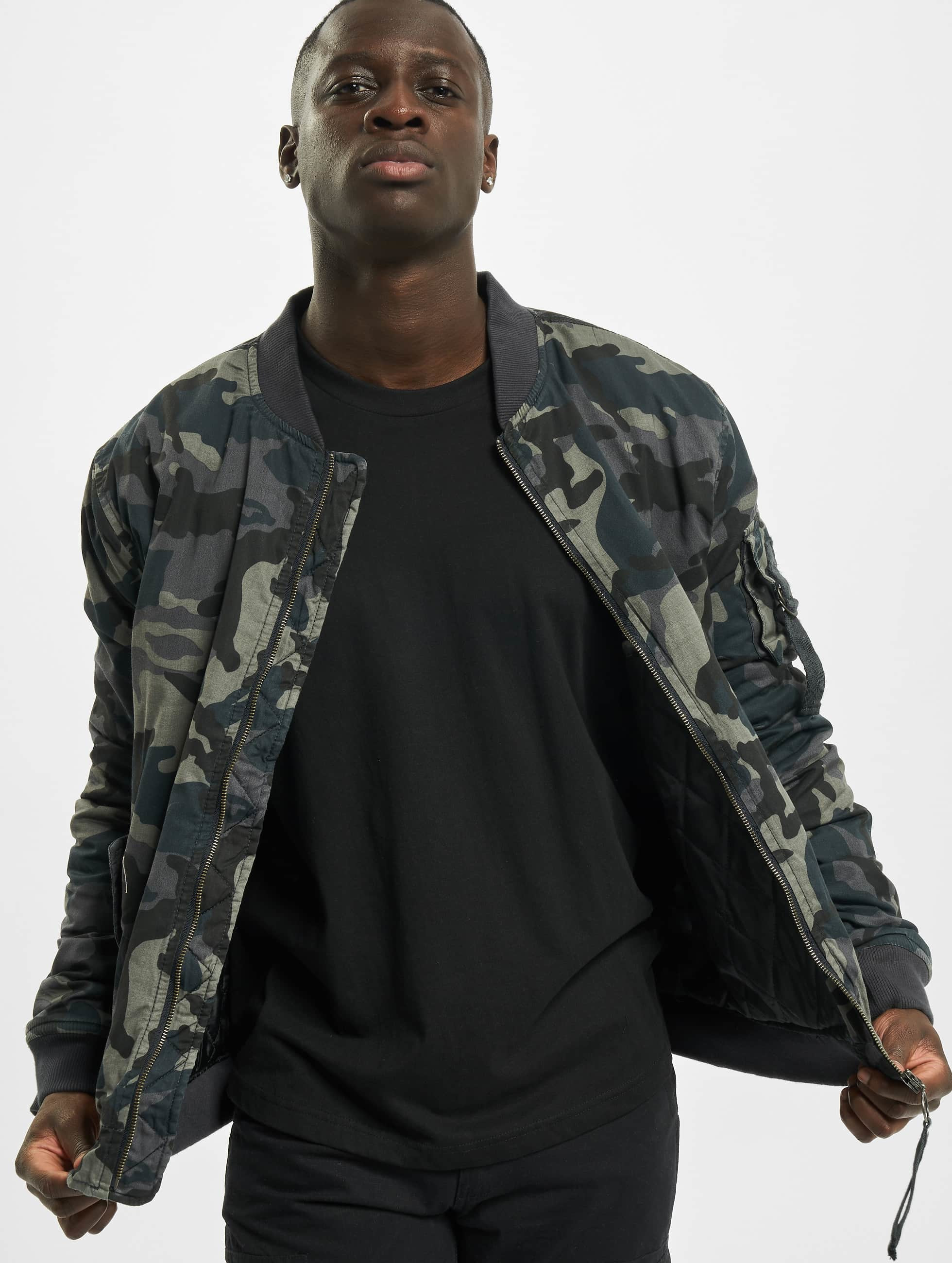 Urban Classics Vintage Camo Bomber camouflage Bomber homme