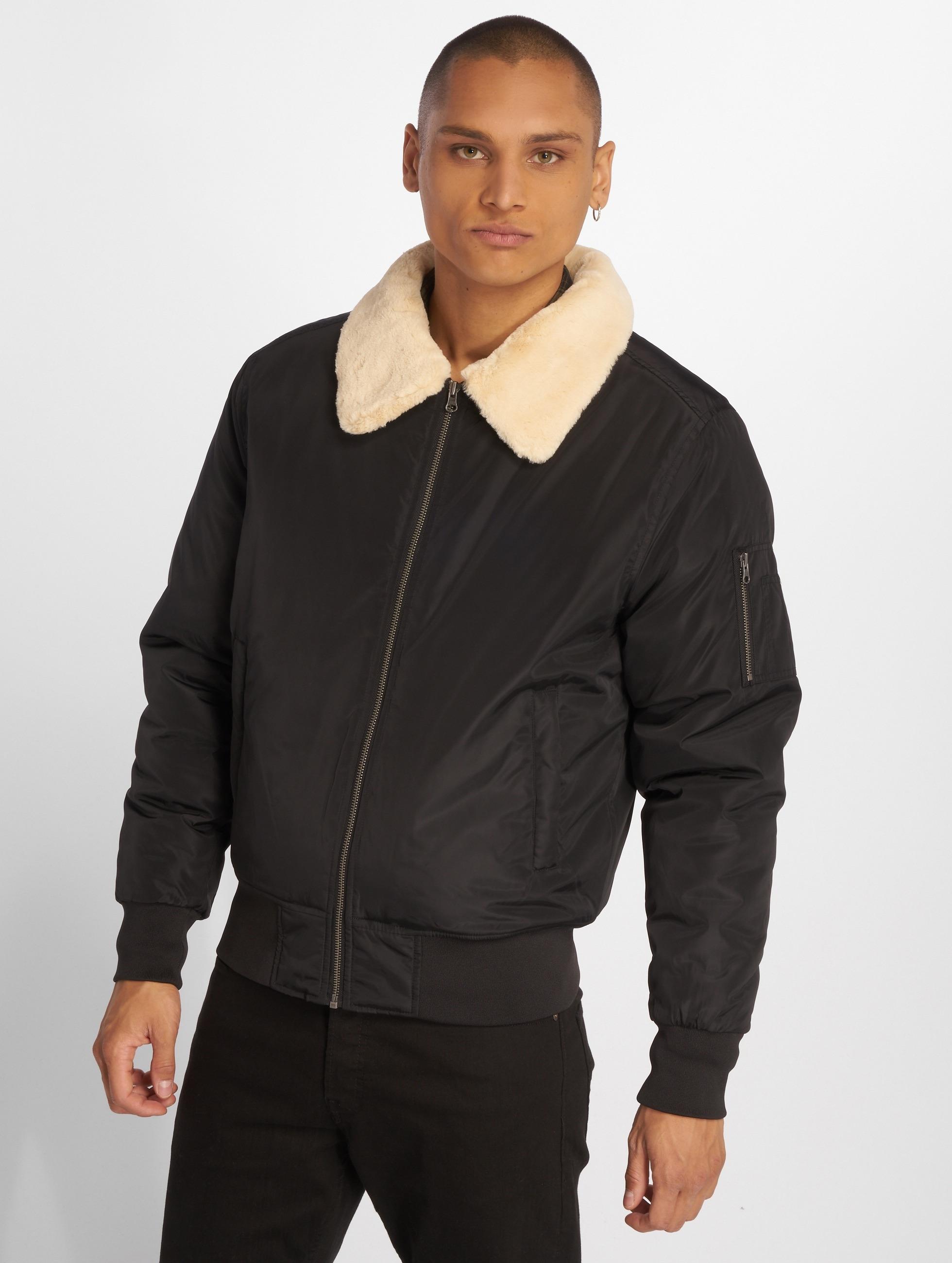 Urban Classics Bomber jacket Pilot black