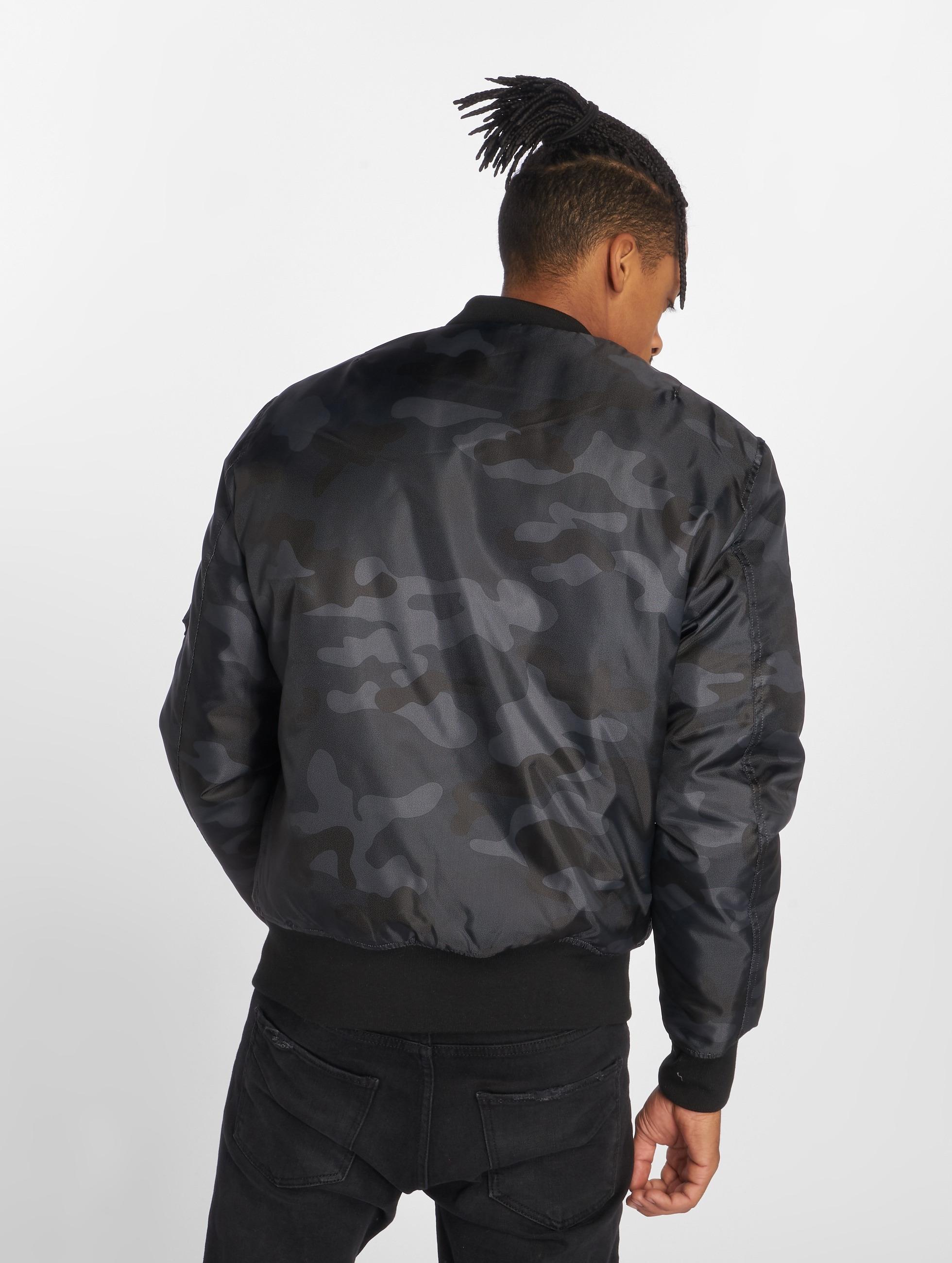 Urban Classics Bomber jacket Camo Basic camouflage