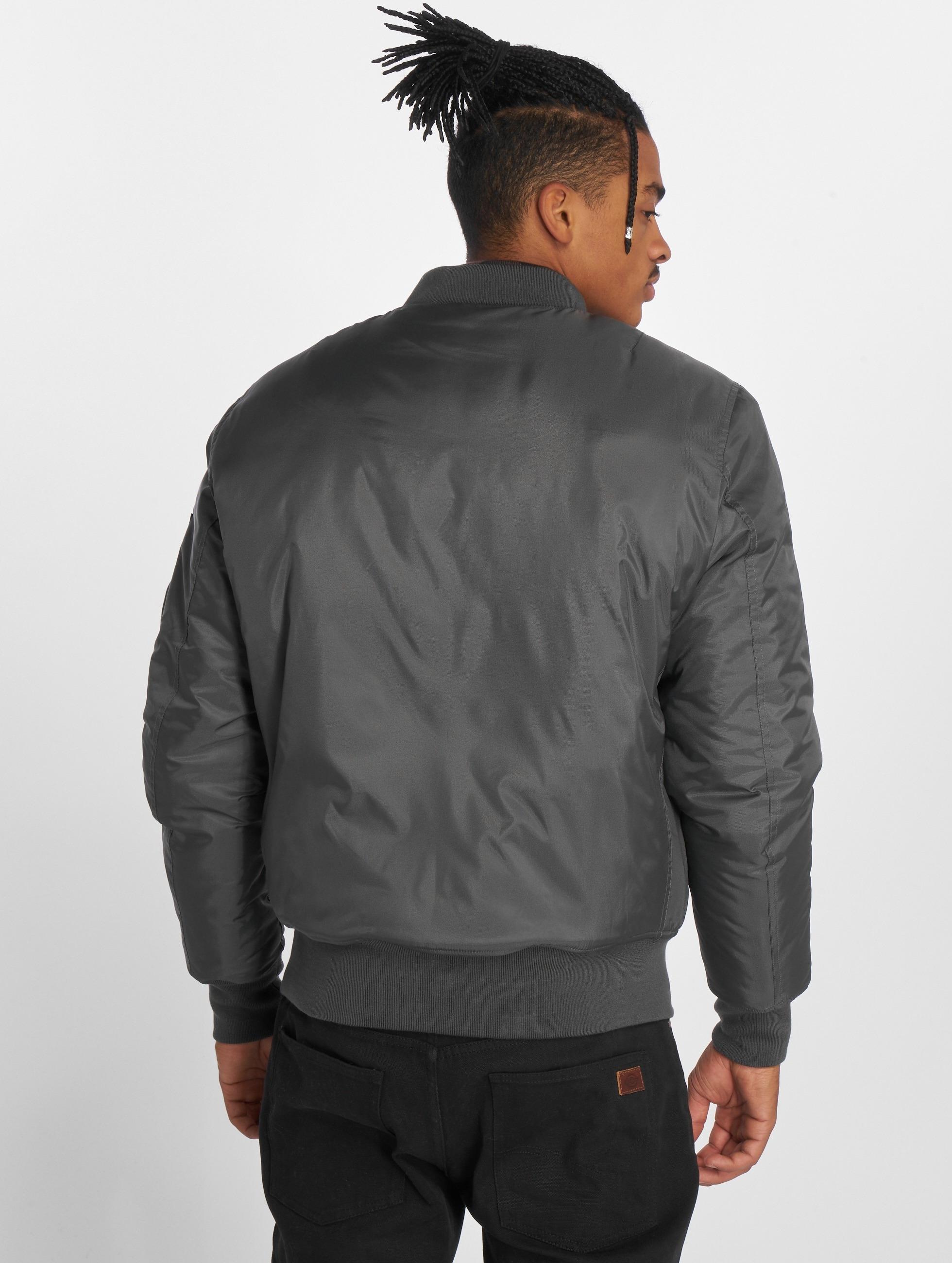 Urban Classics Bomber jacket Basic Bomber grey