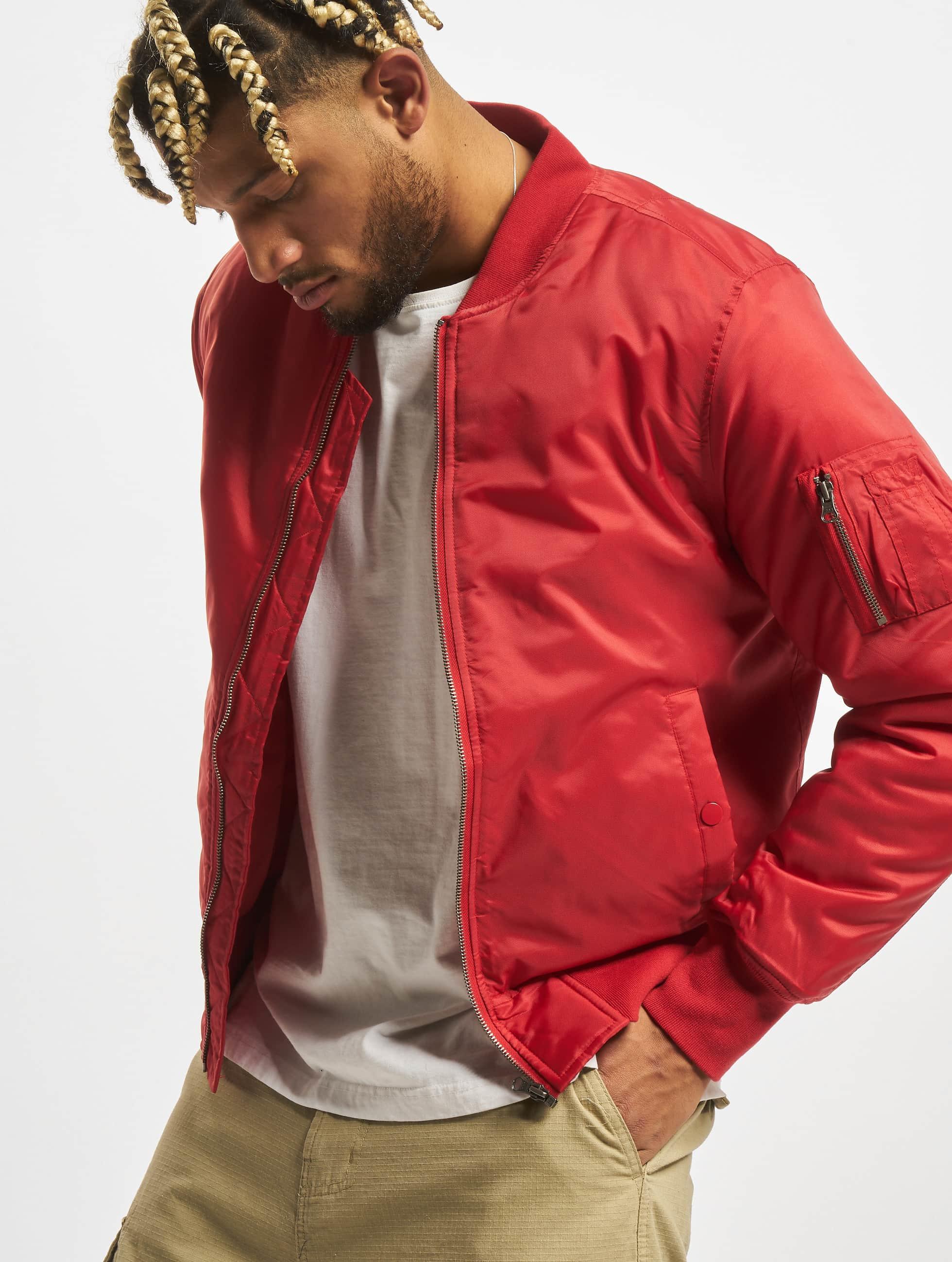 Urban Classics Bomber jacket Basic red