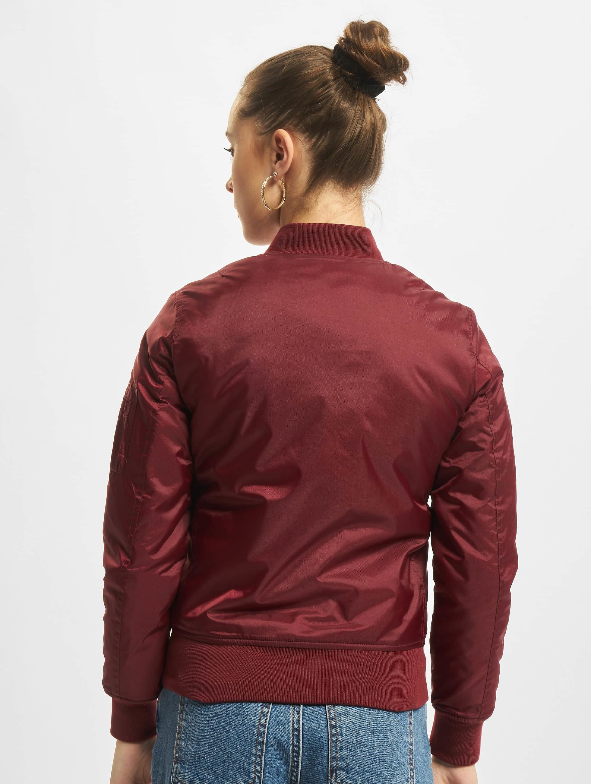 Urban Classics Bomber jacket Basic red