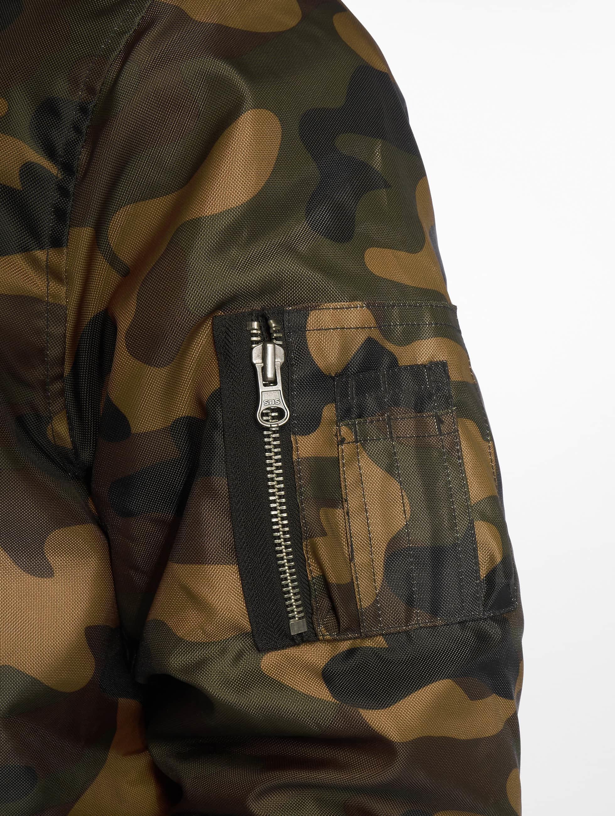 Urban Classics Bomberjack Camo Basic Bomber camouflage