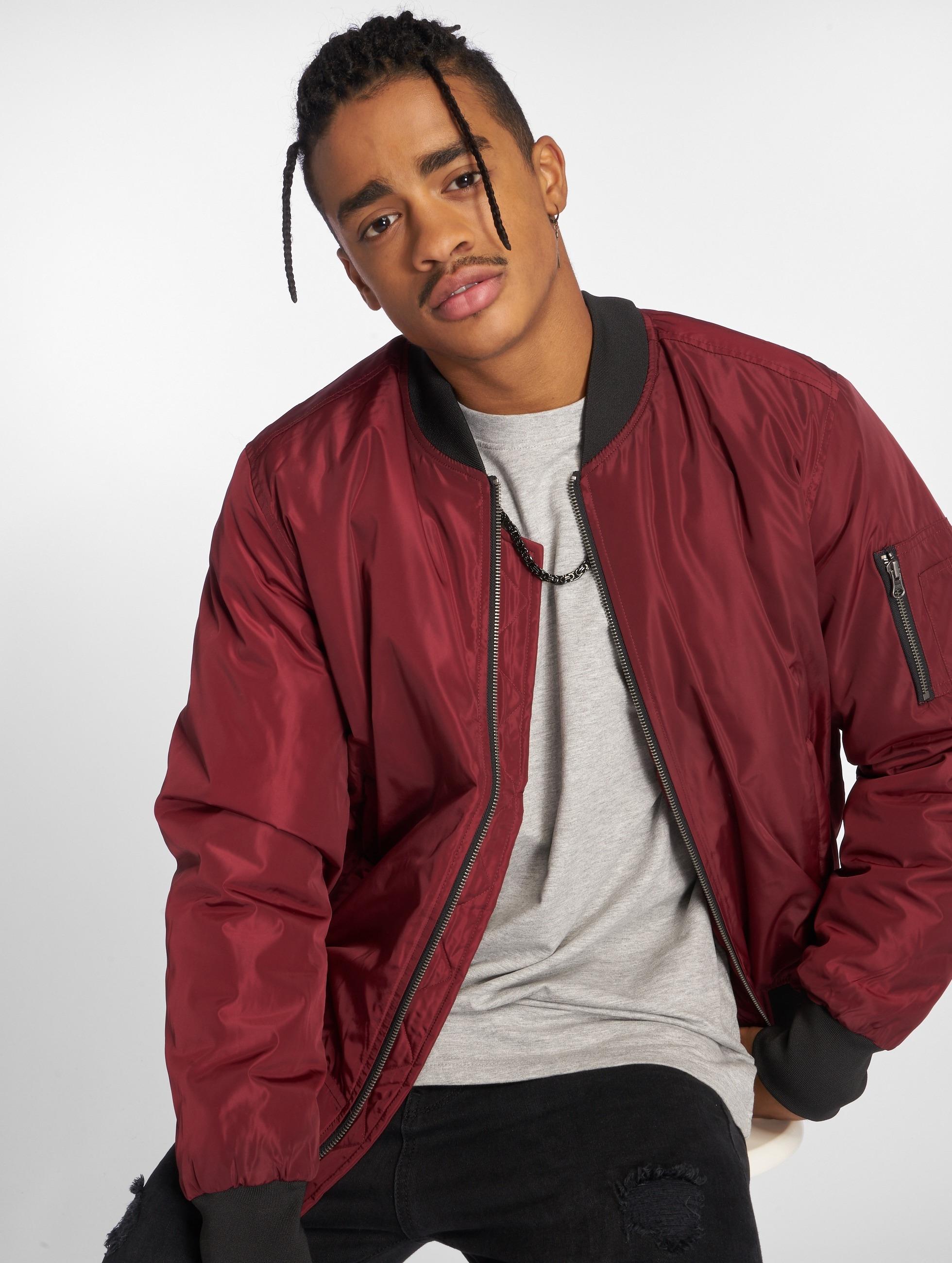 Veste Fashion Rouge Homme