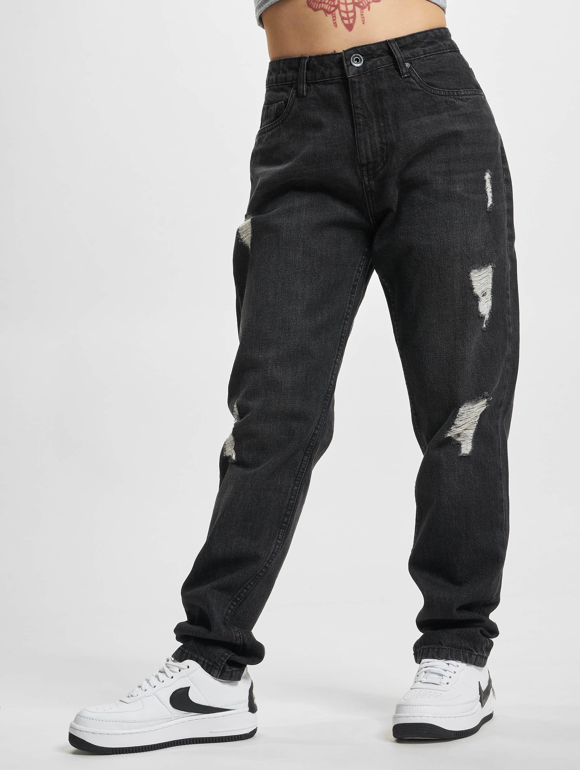 Urban Classics Boyfriend Jeans Grete black