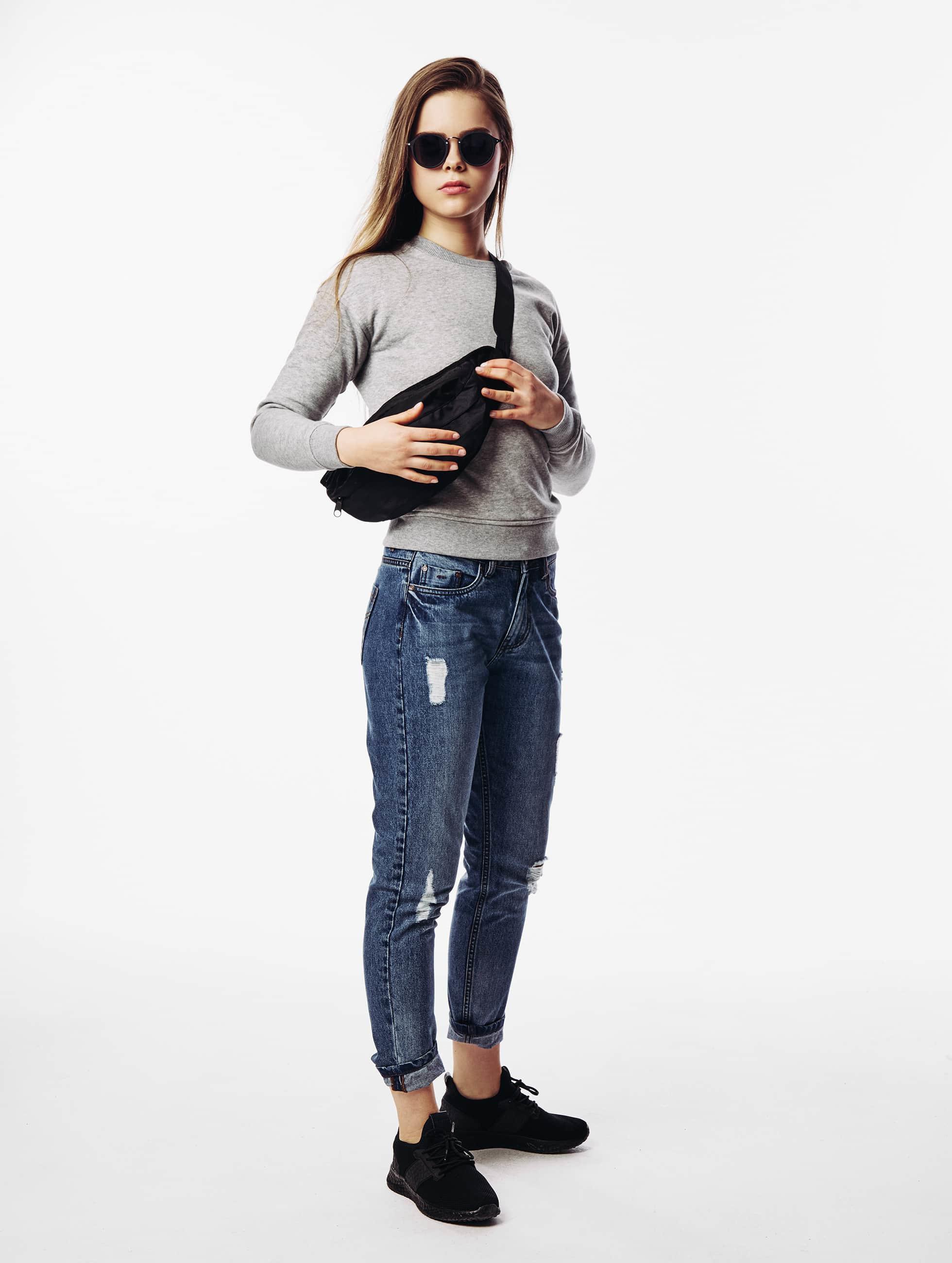 Urban Classics Boyfriend Jeans Grete blue