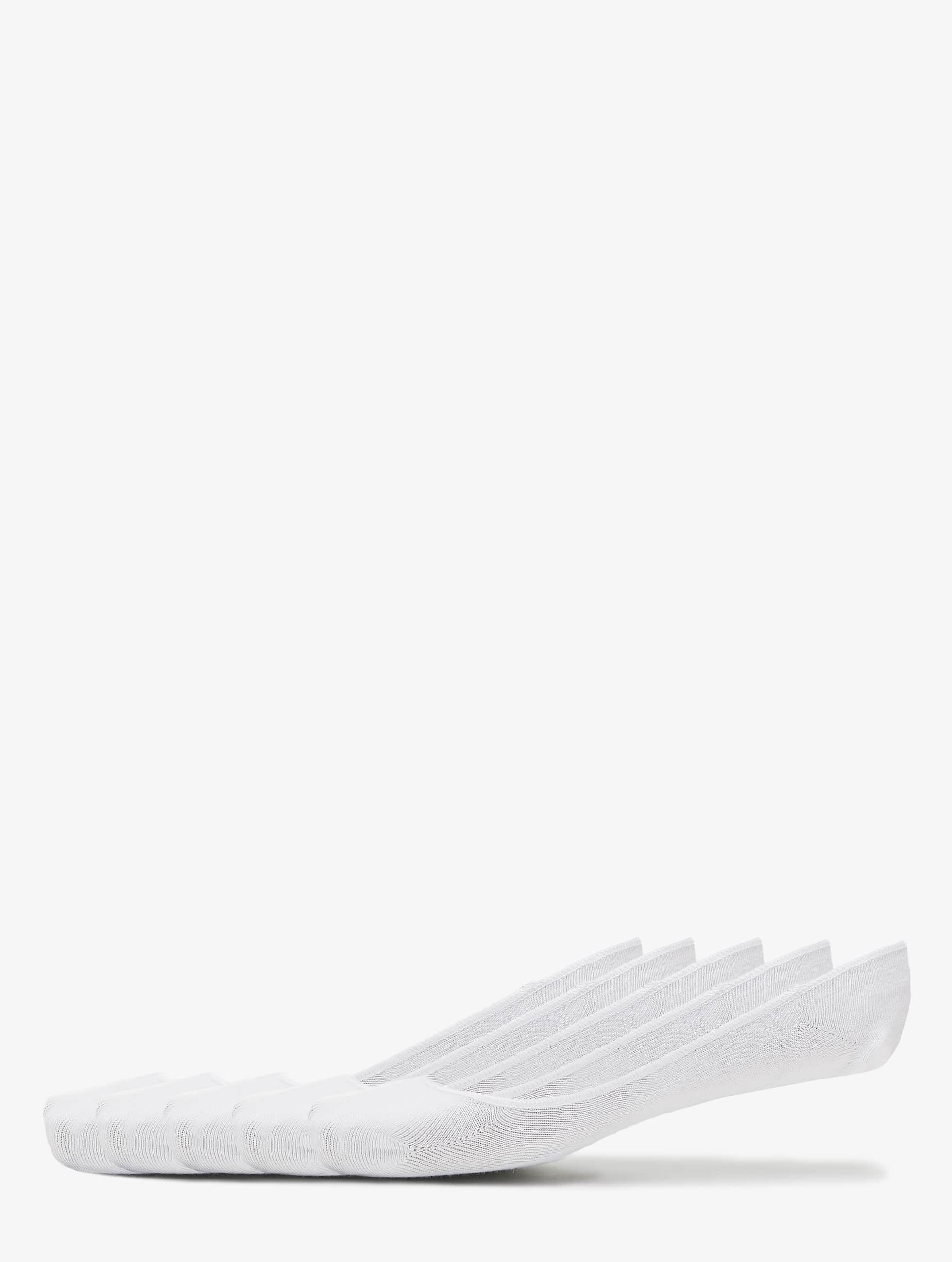 Urban Classics Calcetines Invisible blanco
