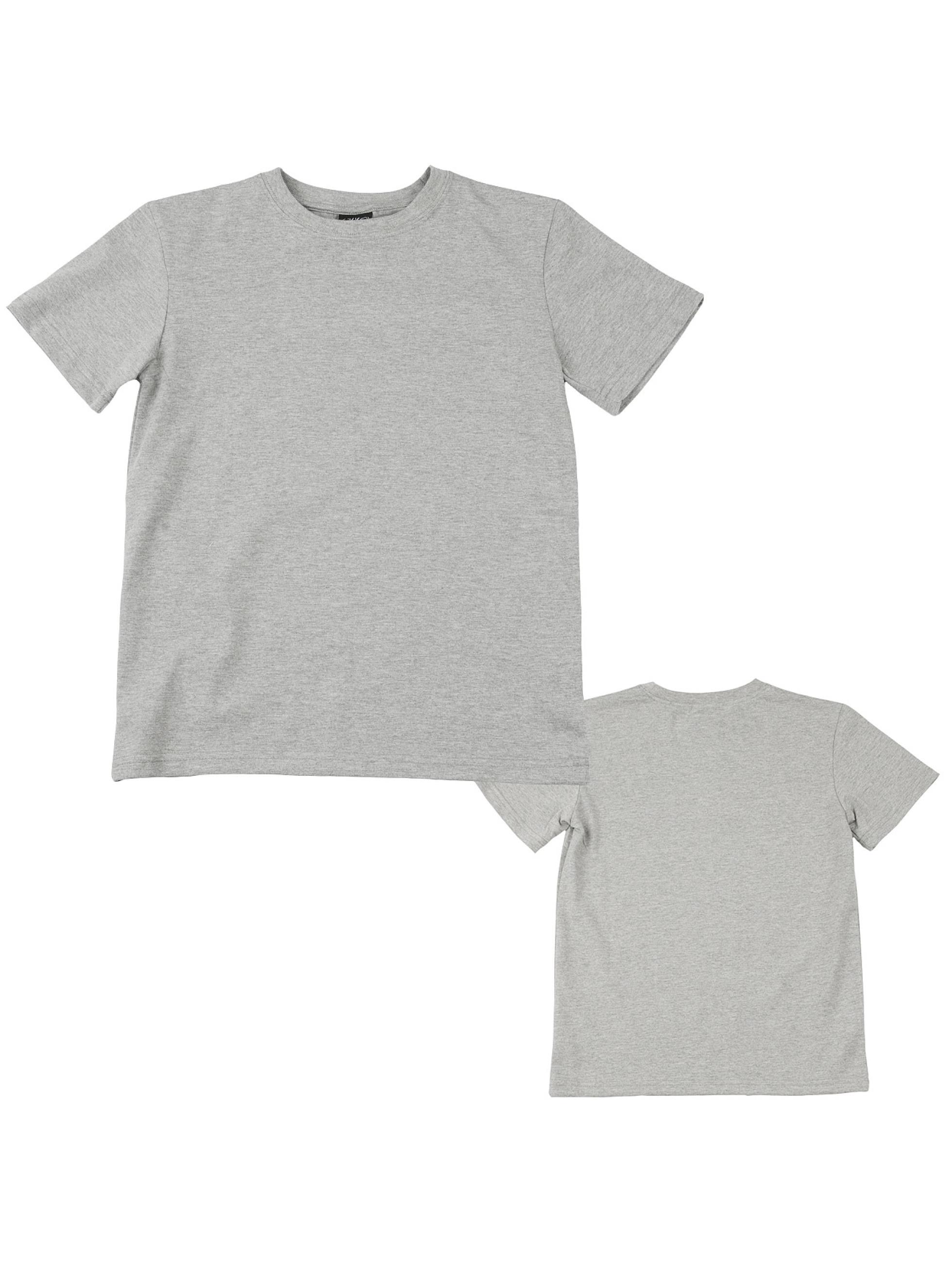 Urban Classics Camiseta Kids Basic gris