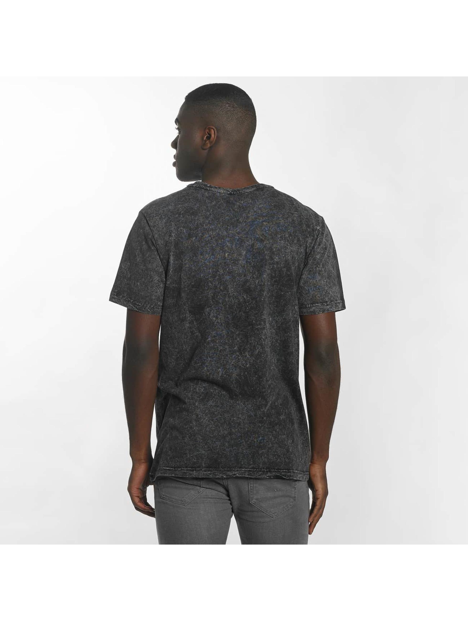 Urban Classics Camiseta Random Wash negro