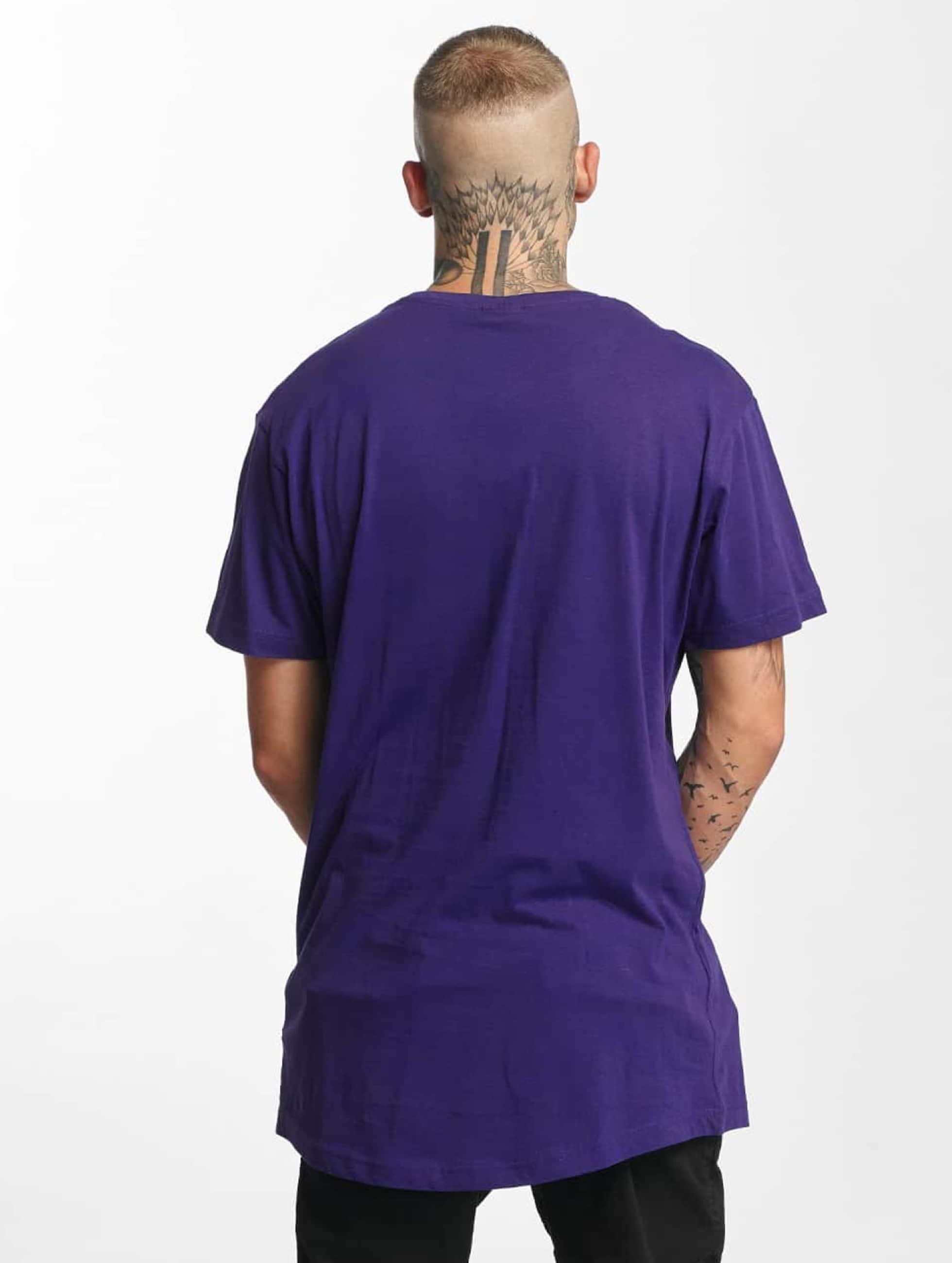 Urban Classics Camiseta Shaped Oversized Long púrpura