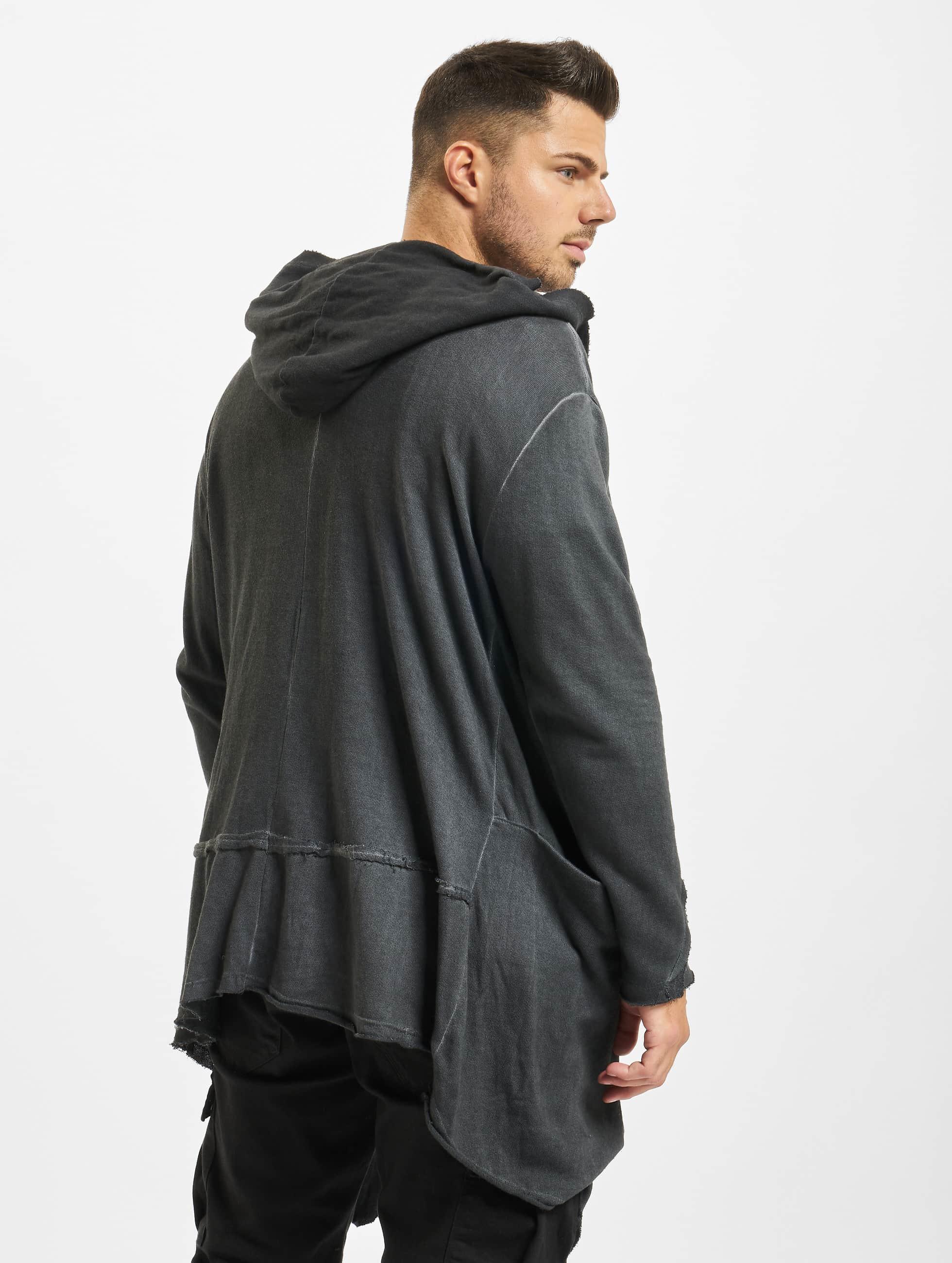 Urban Classics Cardigan Cold Dye grå