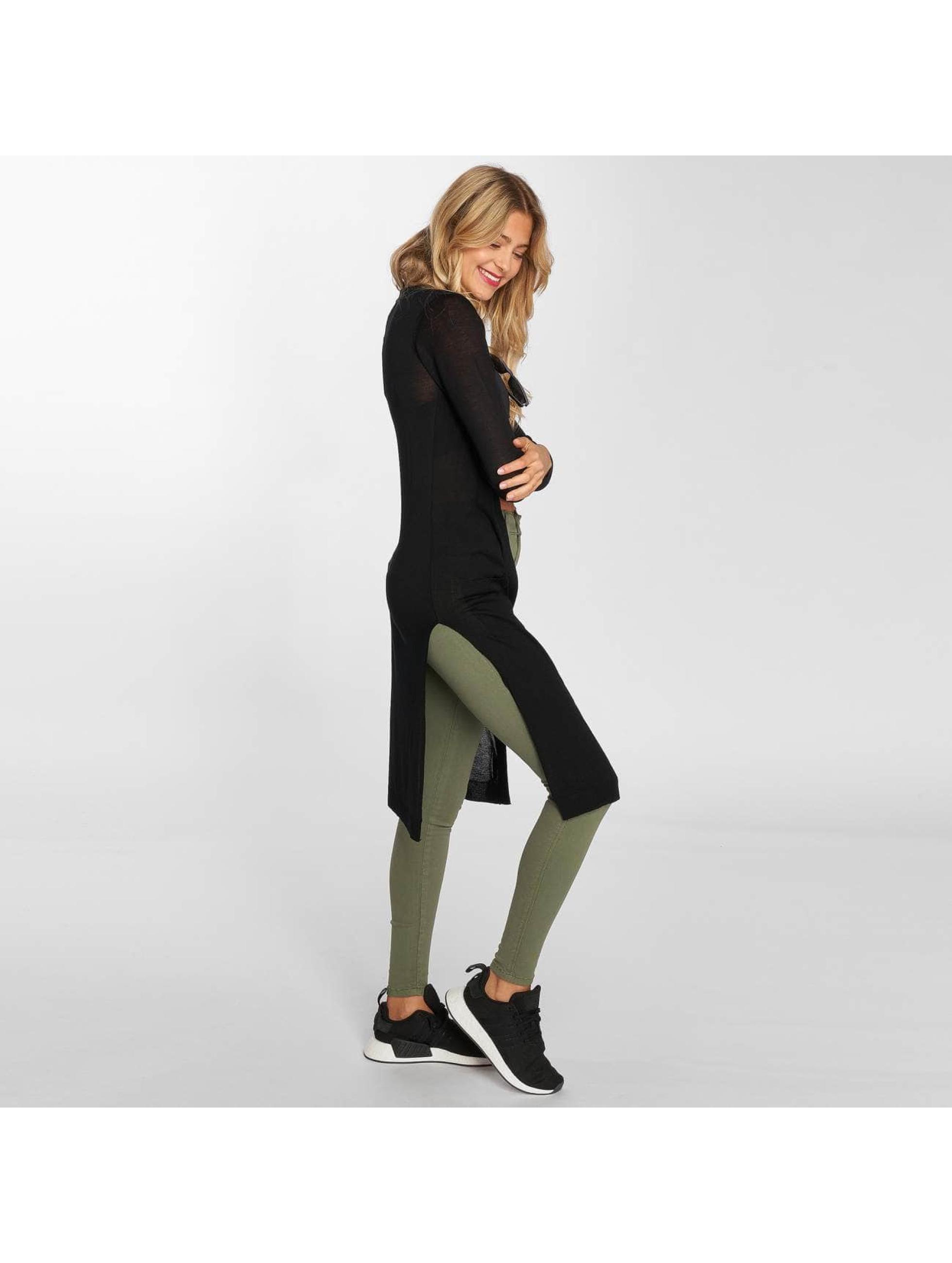 Urban Classics Cardigan Ladies Fine Knit noir