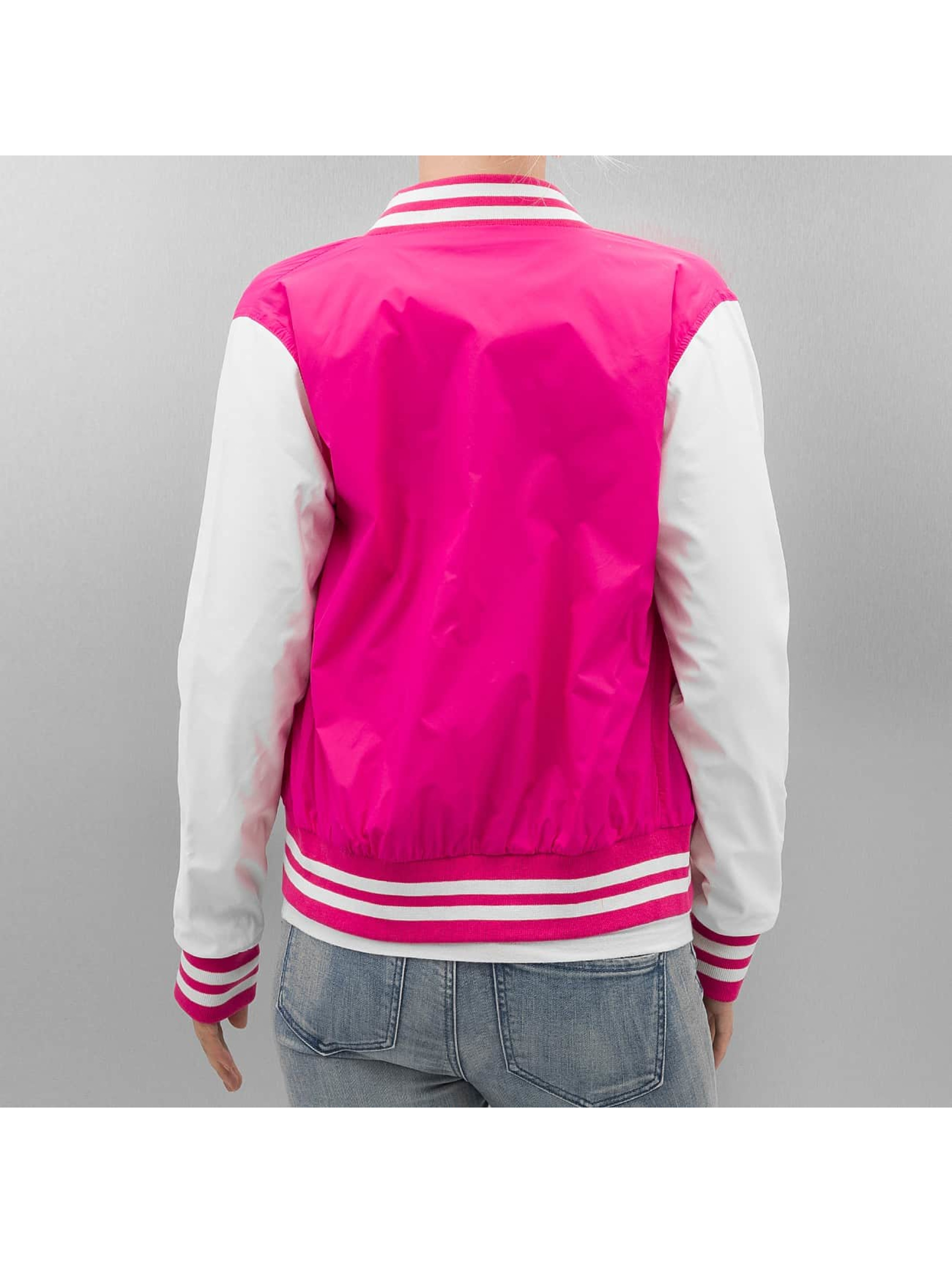 Urban Classics College Jacke Light pink