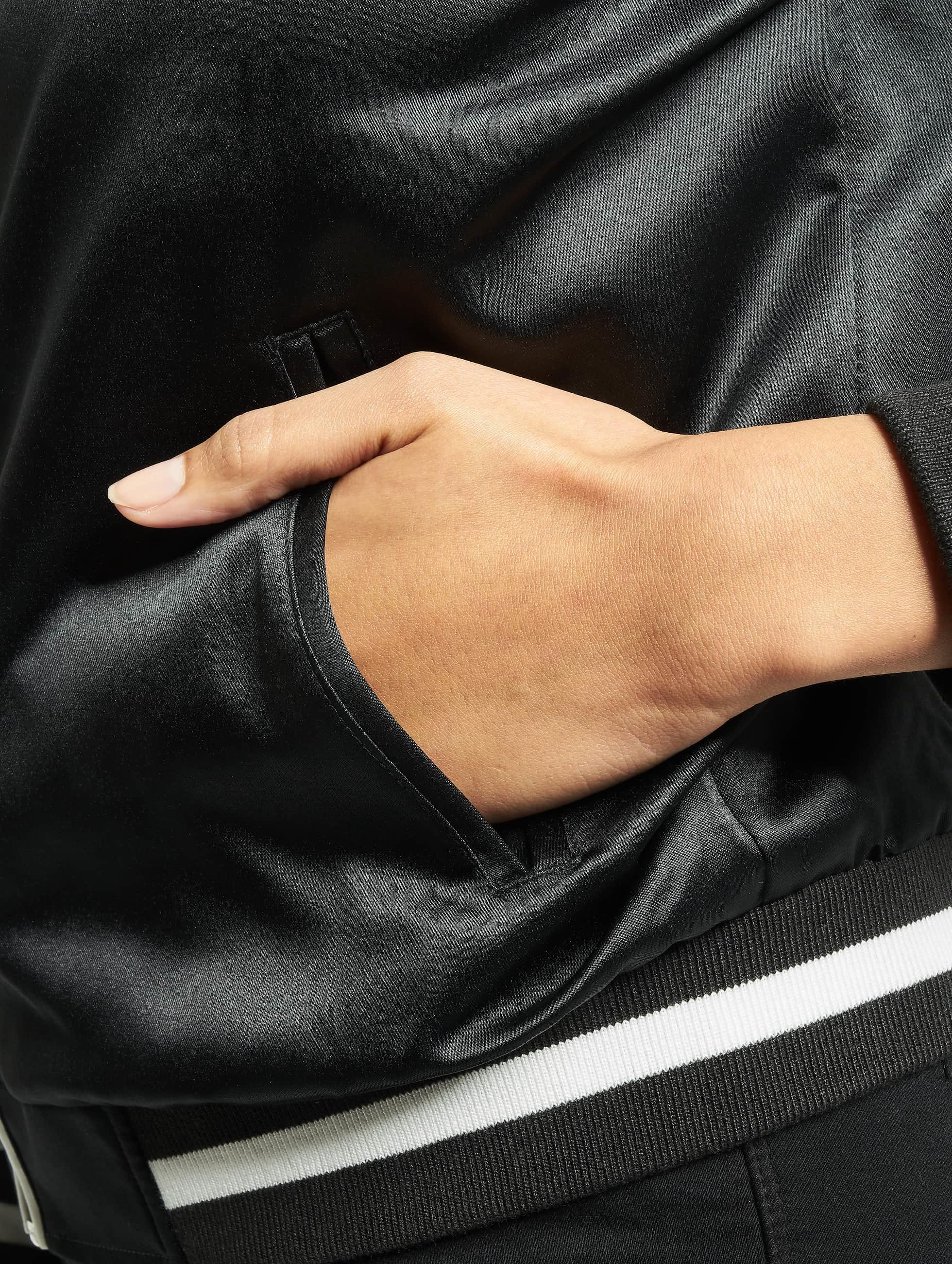Urban Classics College Jacket 3 Tone Souvenir black