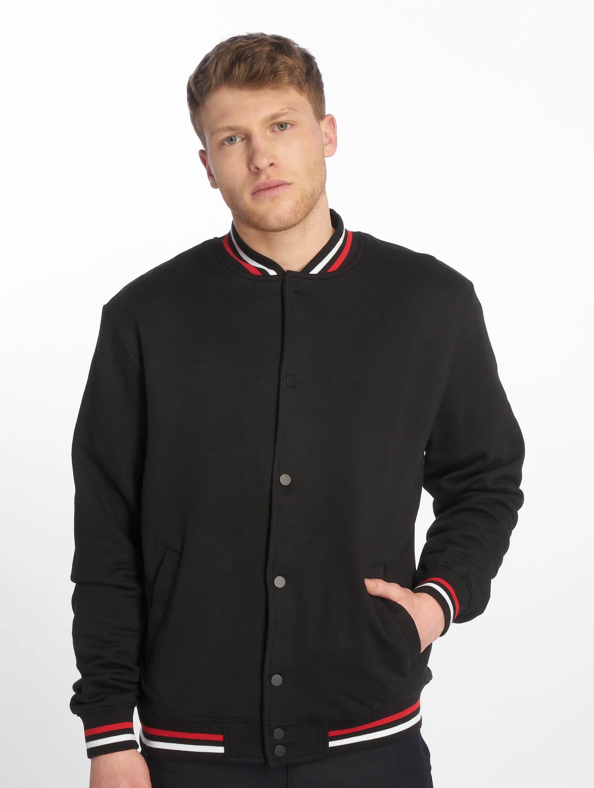 Urban Classics College Jacket 3-Tone College black