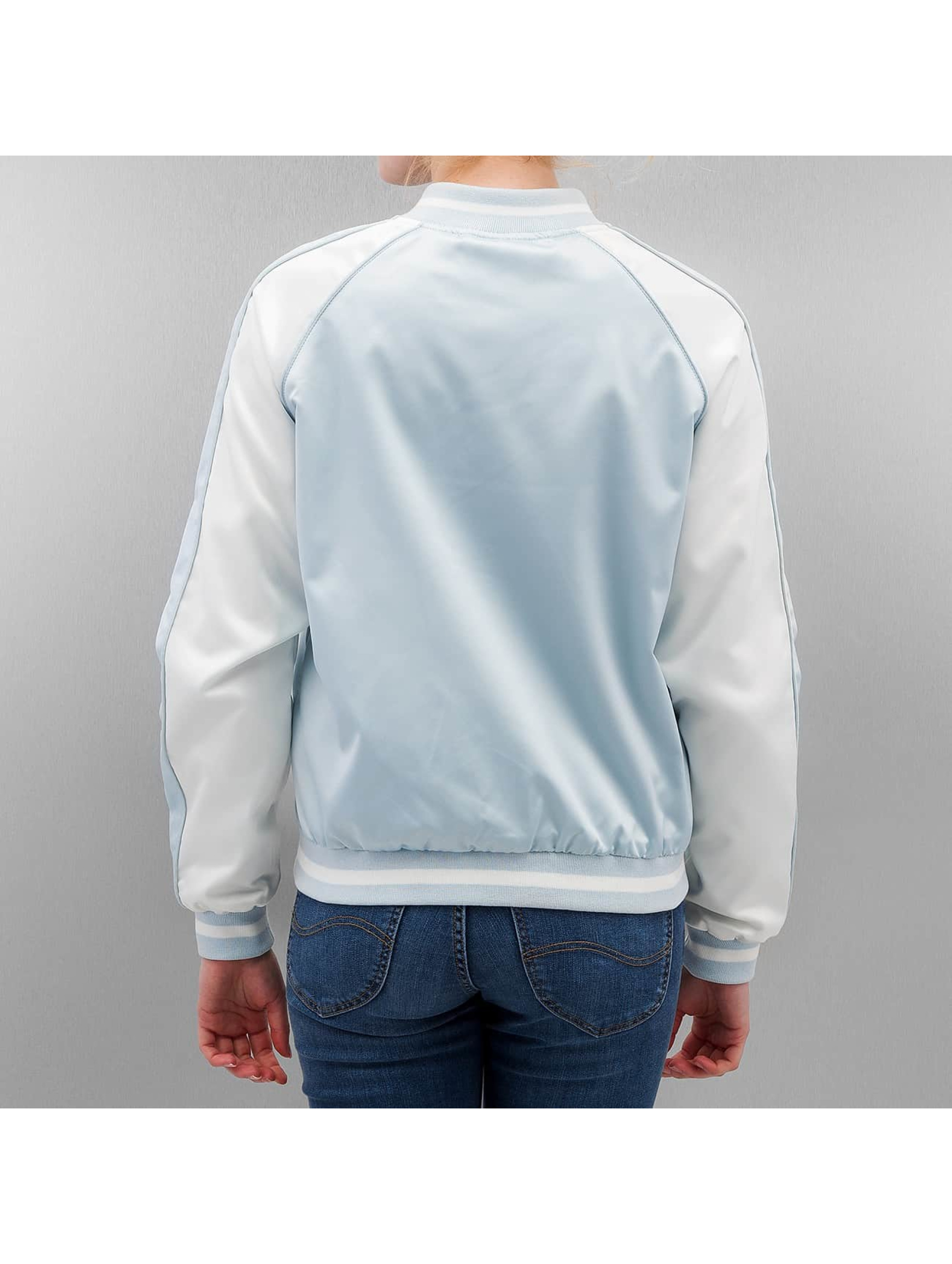 Urban Classics College Jacket 3 Tone Souvenir blue