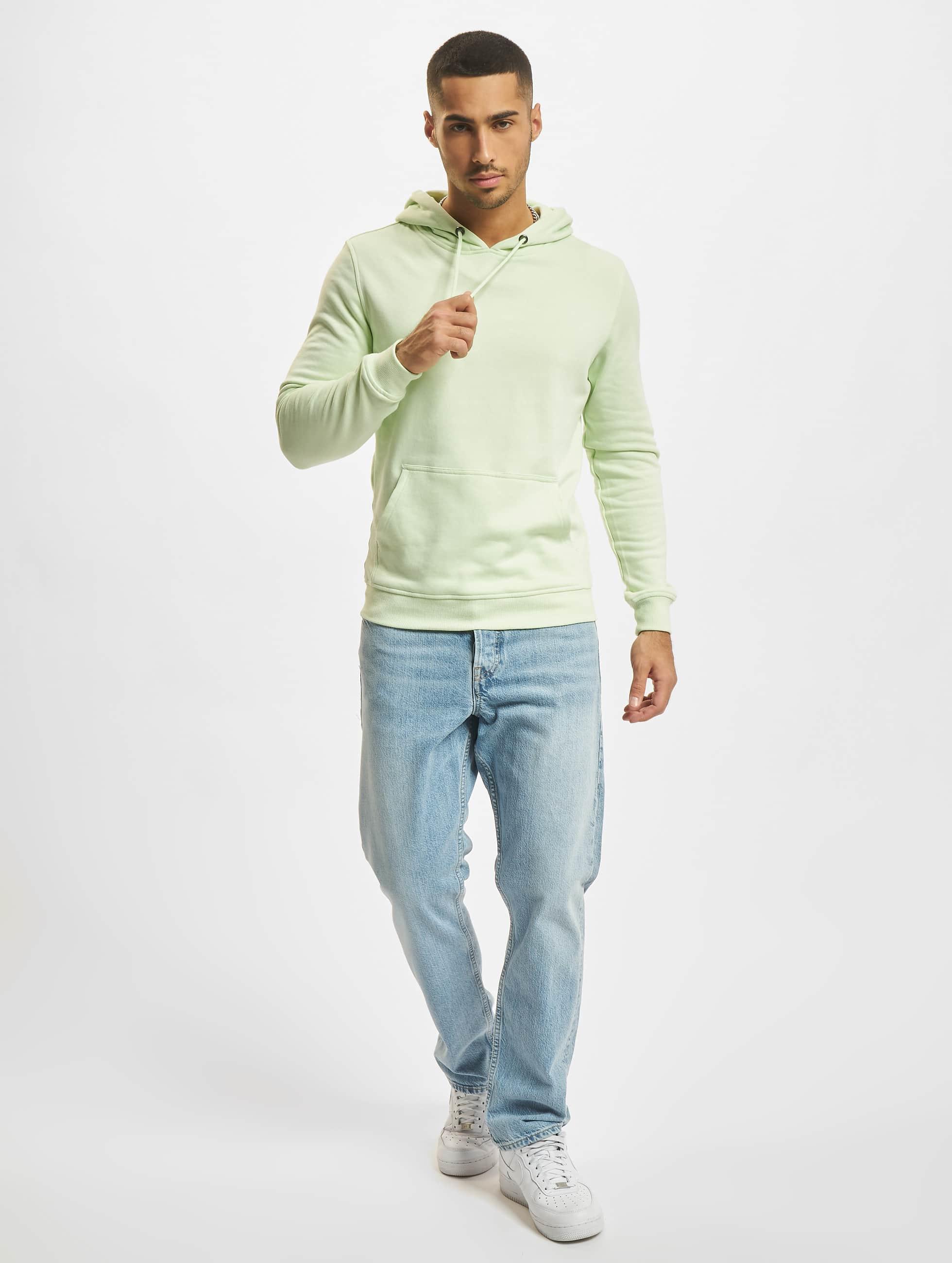 Urban Classics Felpa con cappuccio Basic verde