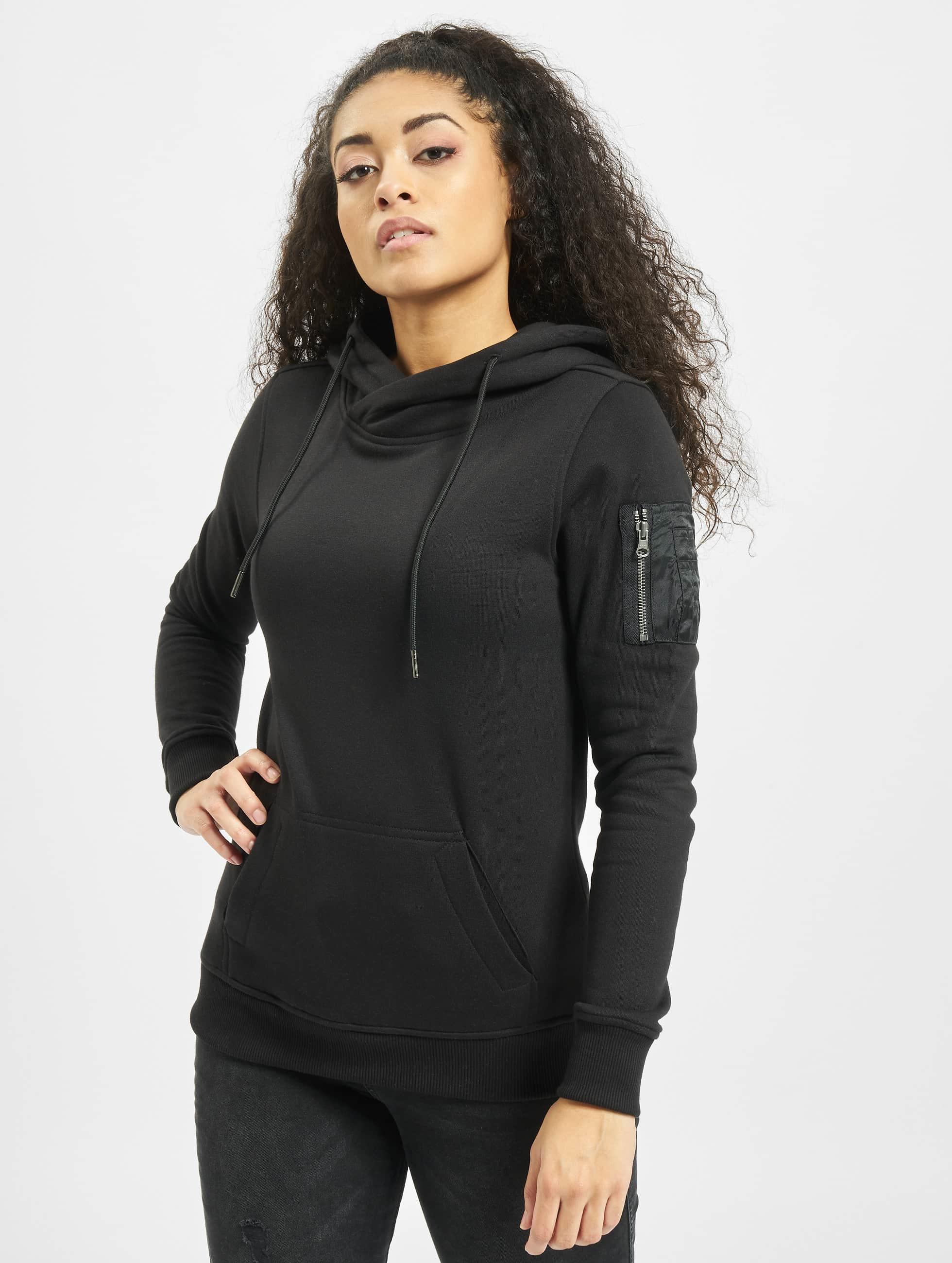 Urban Classics Hoodie Bomber black