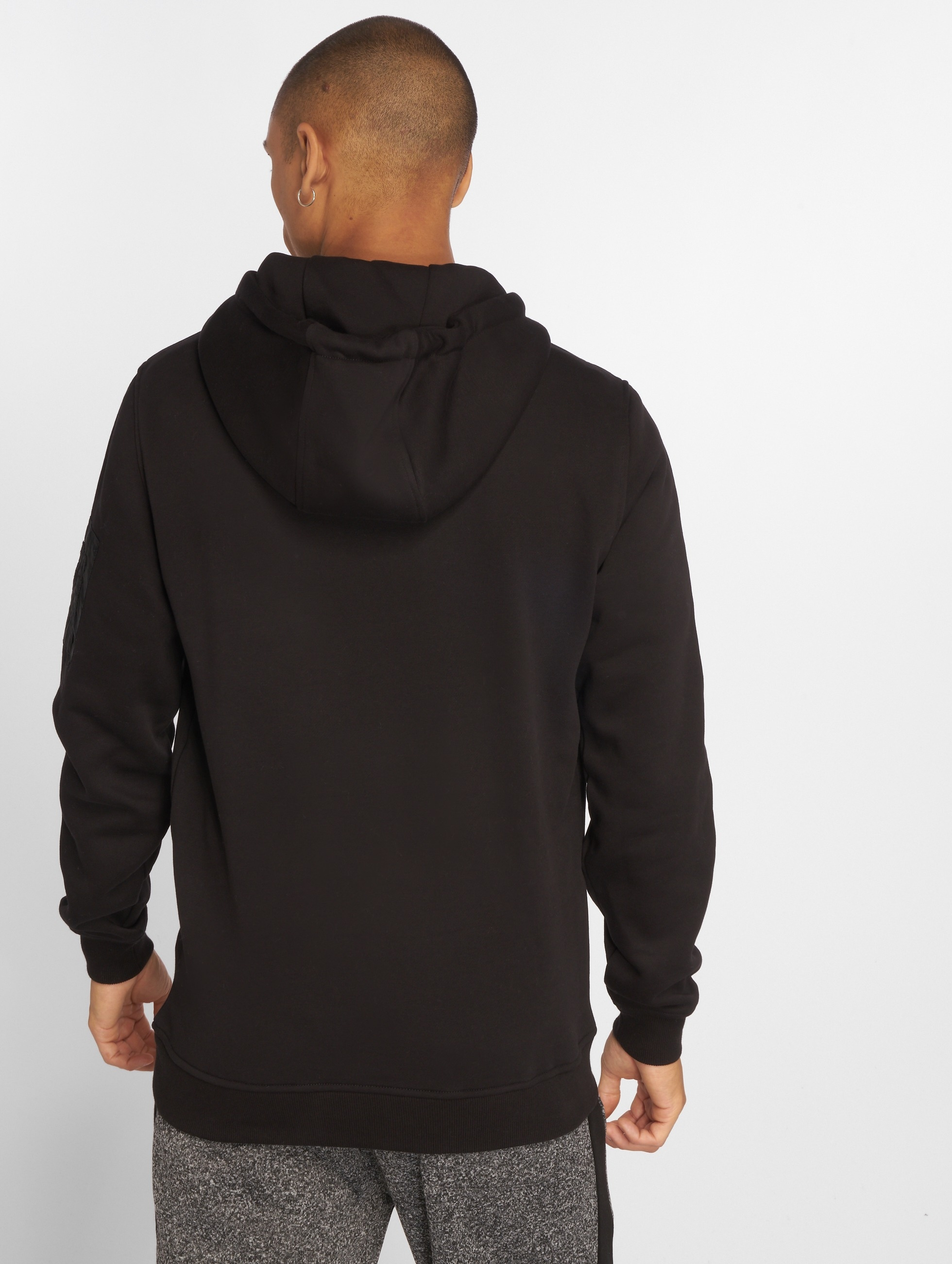 Urban Classics Hoodie Sweat Bomber black